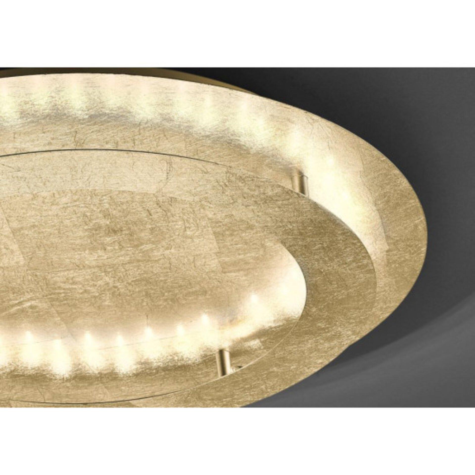 Deckenleuchte NEVIS Paul Neuhaus Metall gold 50 x 8 x 50 cm