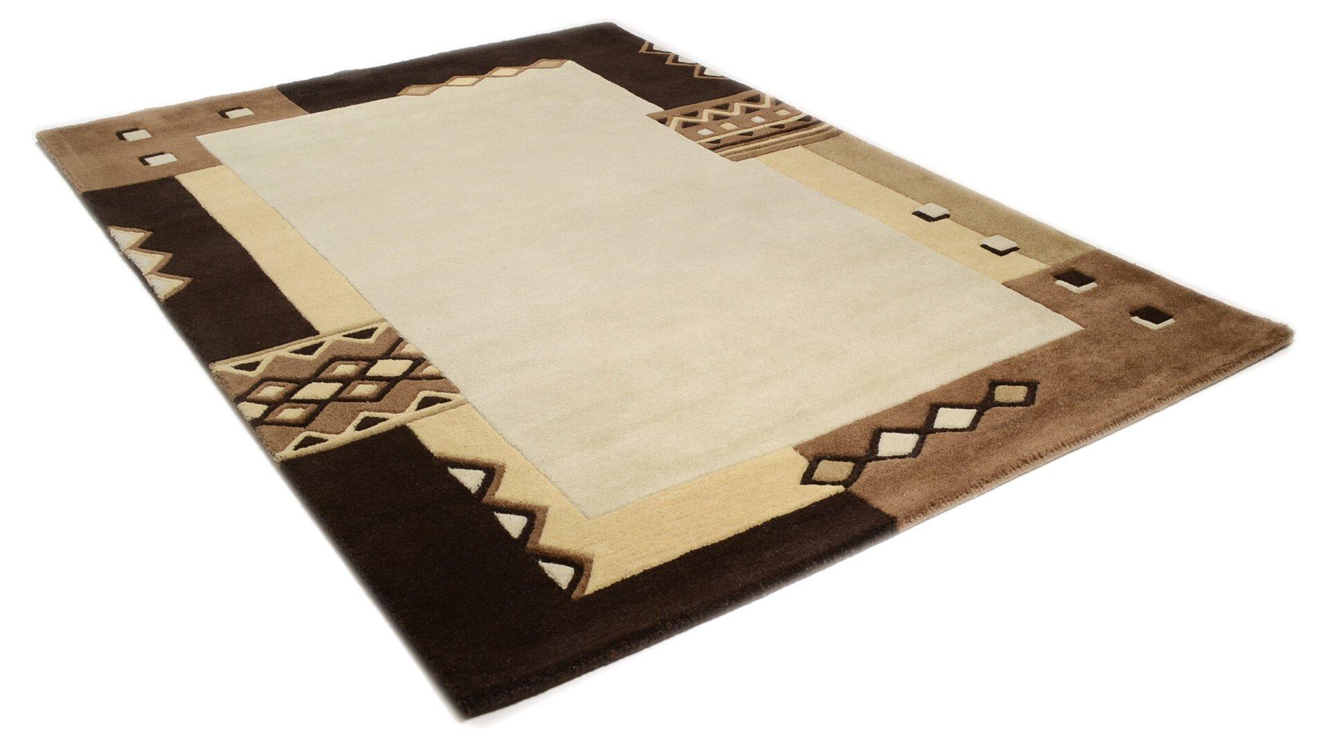 Handtuftteppich Florida Theko Textil braun
