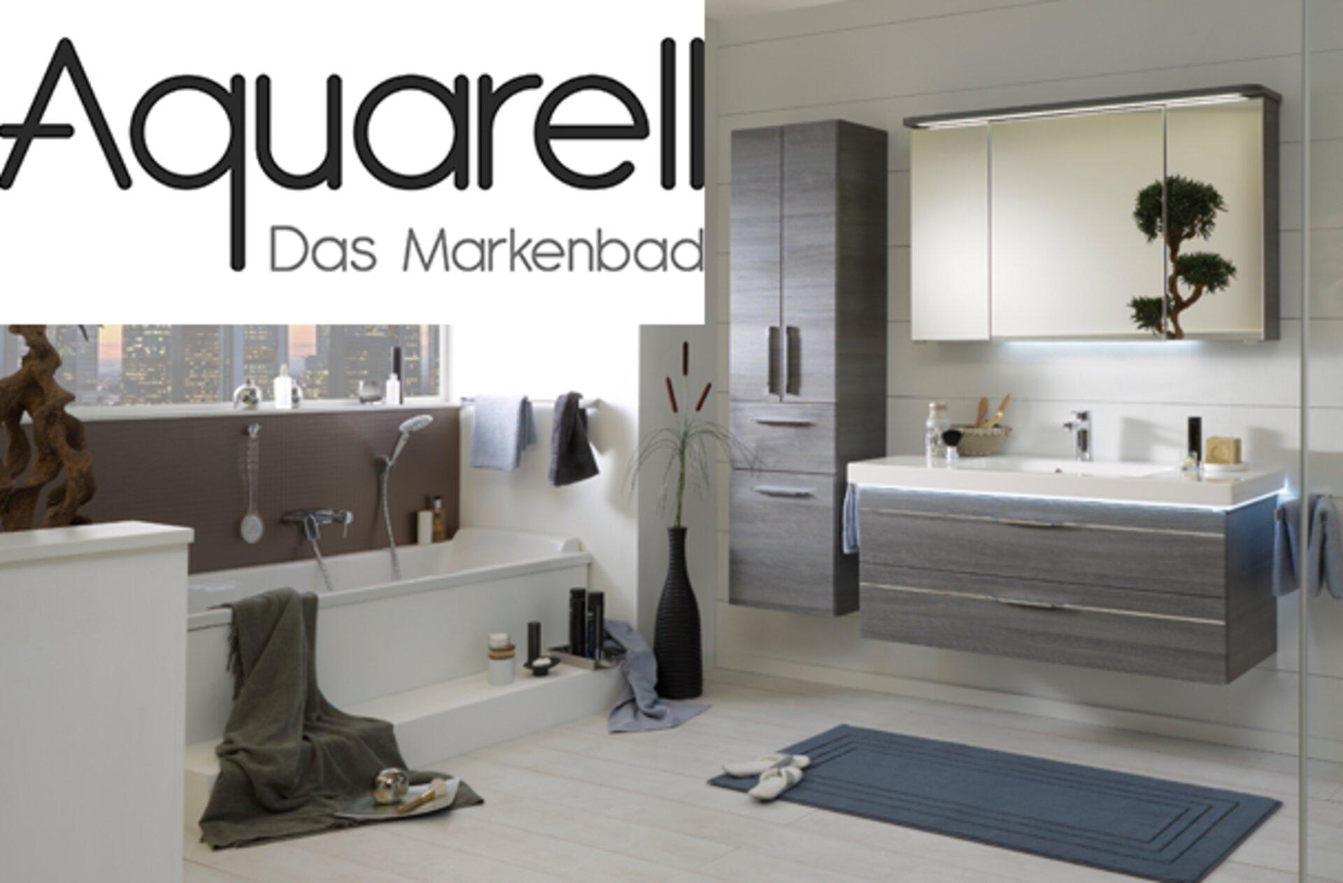 Aquarell Marke Markenseite Bad Badmöbel Hersteller