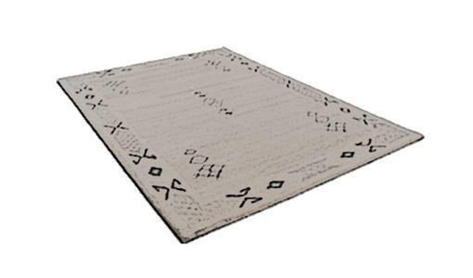 Stilisierter Berberteppich als Synonym für die Kategorie. Auf dem grauen Teppich sind leichte Muster zu erkennen, die typisch für die Berberteppiche sind.