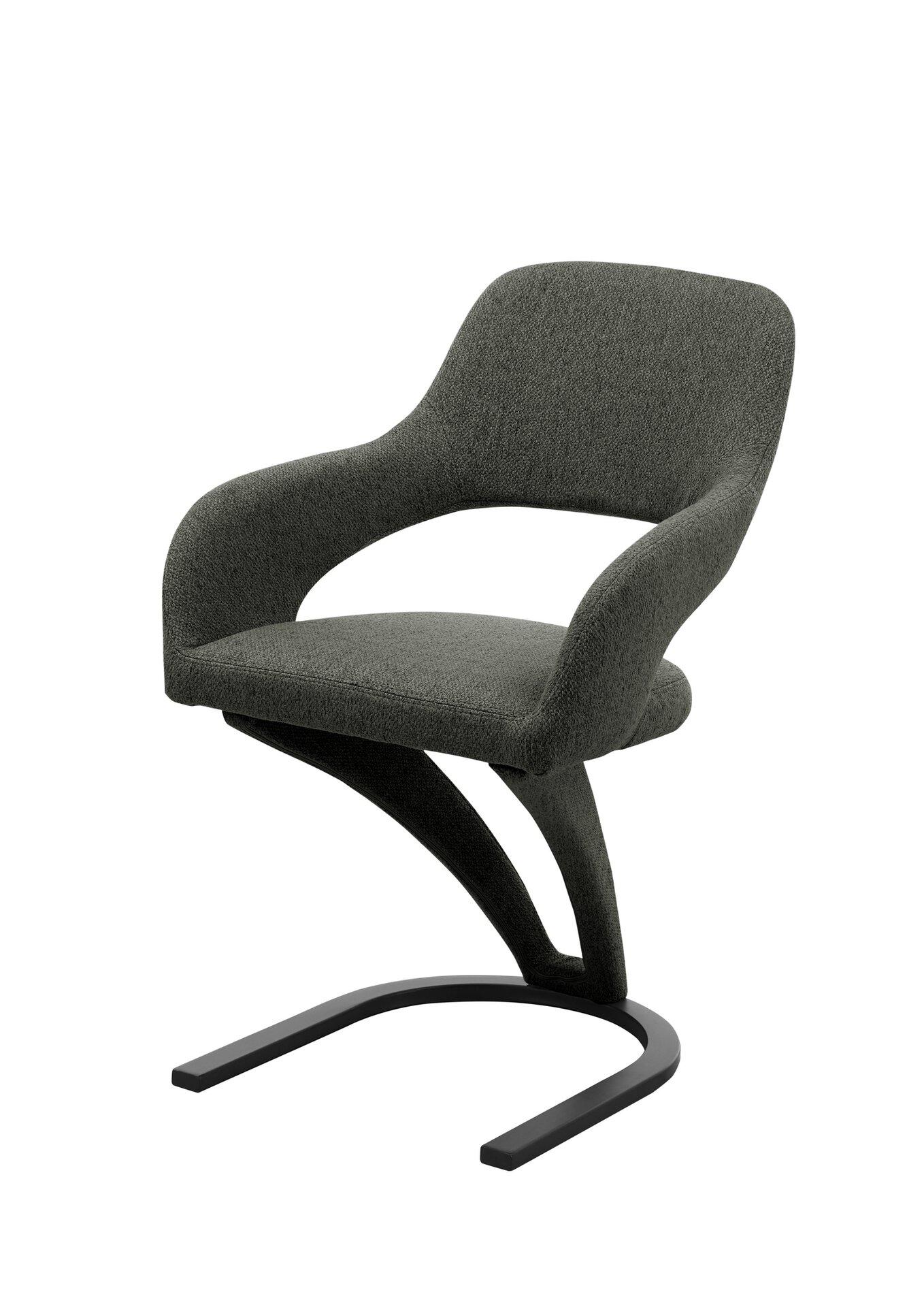 Stuhl CROSBY Vito Textil mehrfarbig 65 x 86 x 56 cm