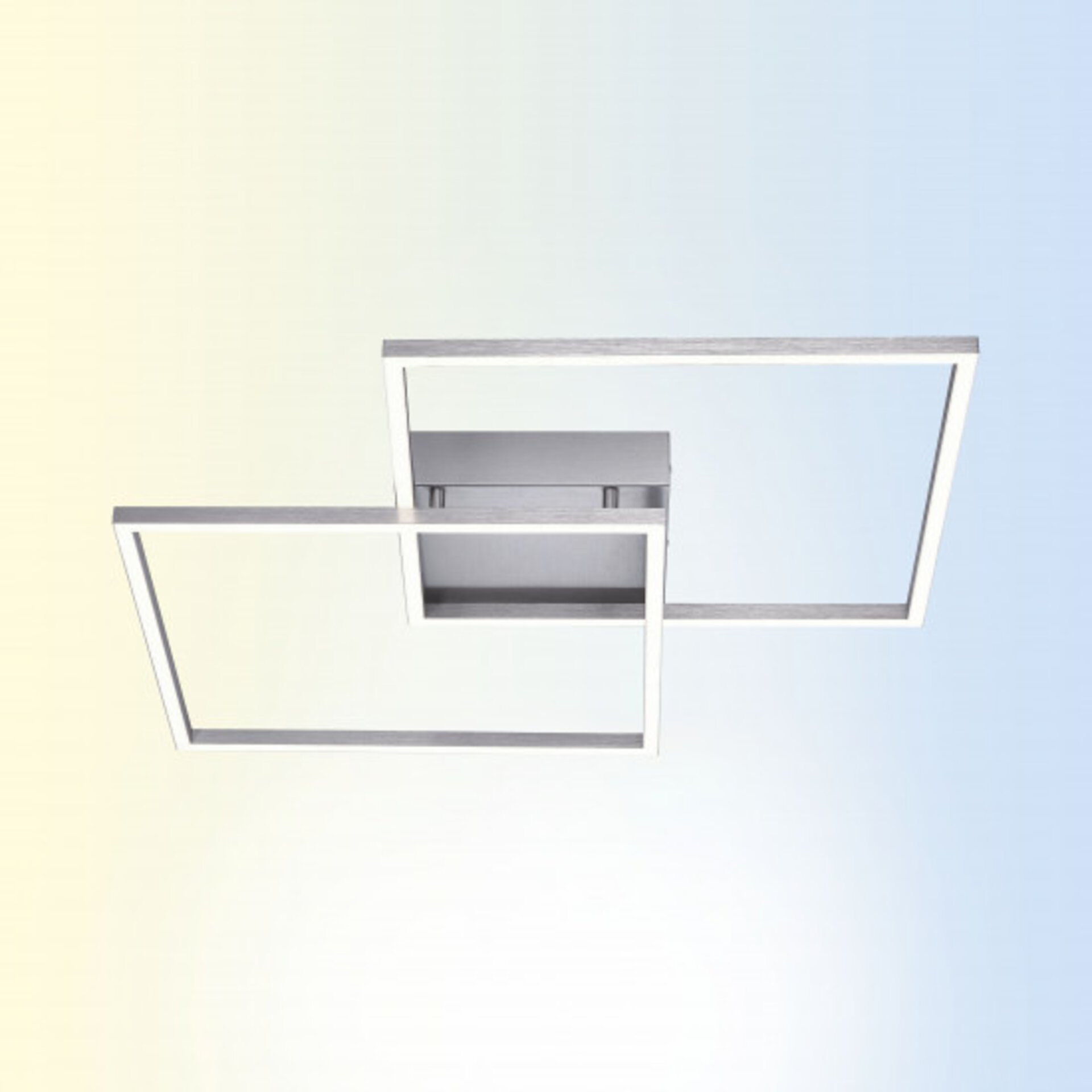 Smart-Home-Leuchten Q-INIGO Paul Neuhaus Metall 53 x 7 x 53 cm