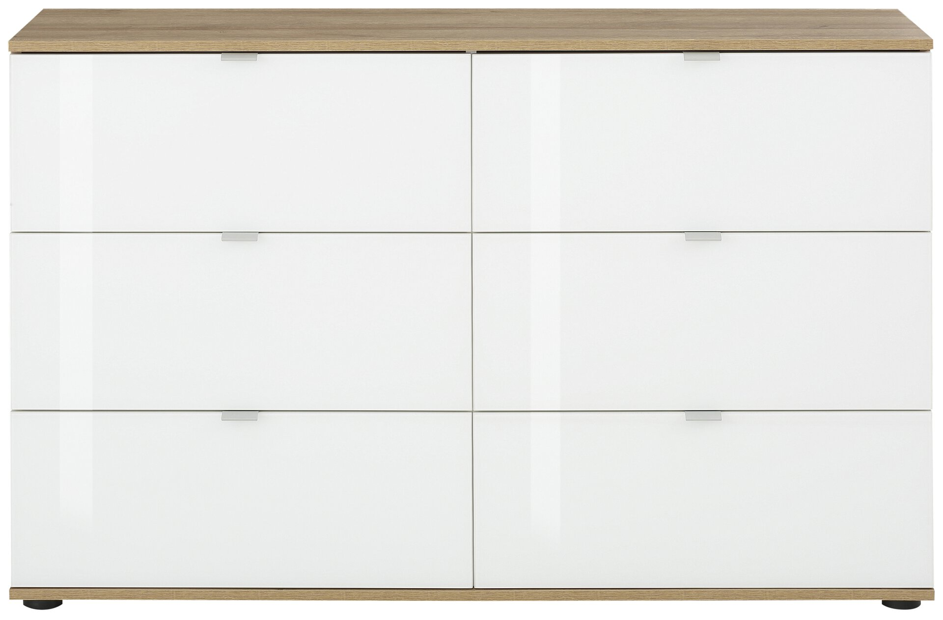 Kommode FONTE Vito Holzwerkstoff mehrfarbig 40 x 82 x 129 cm