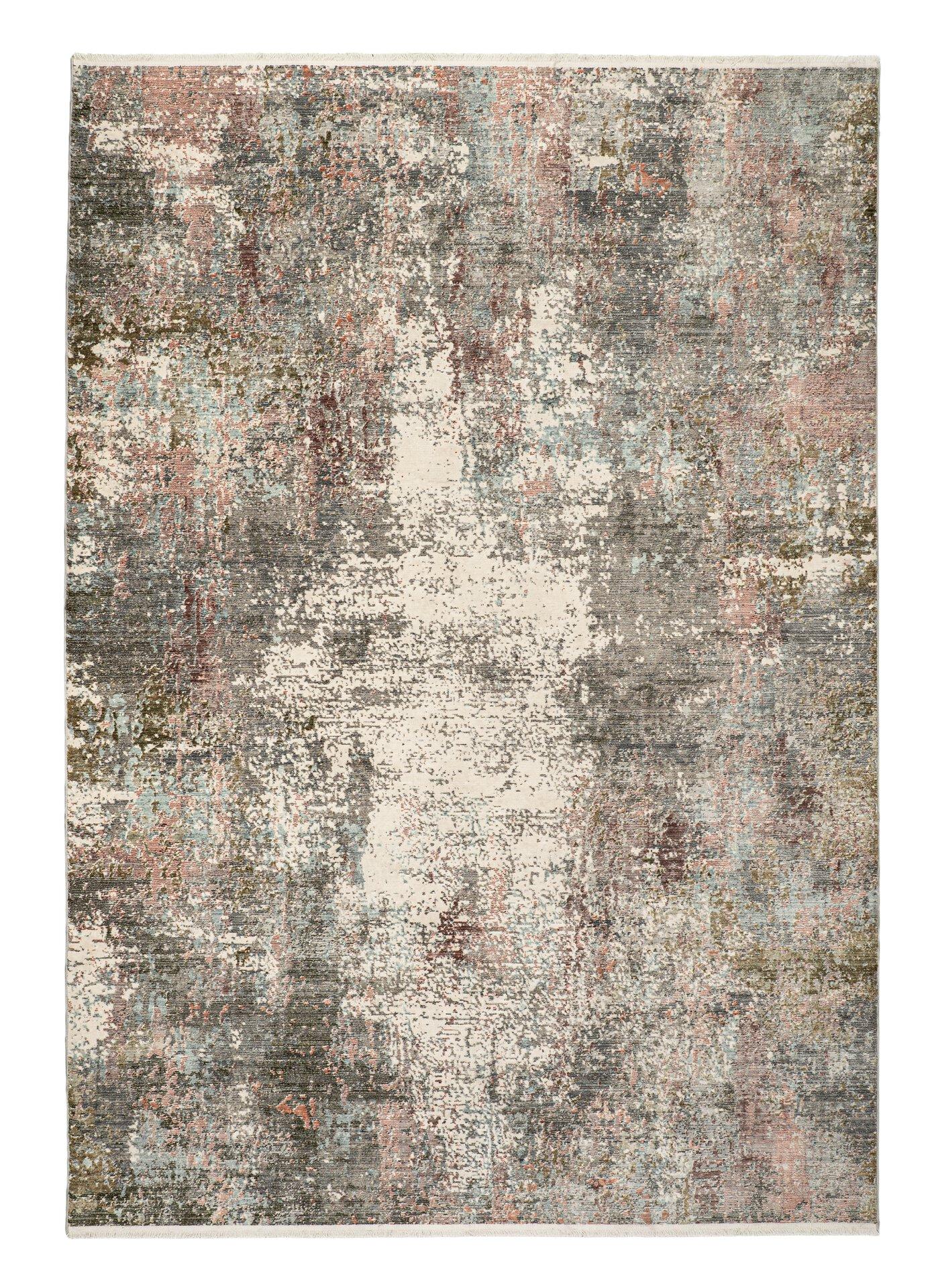 Maschinenwebteppich Aleo merinos Textil grau 120 x 170 cm