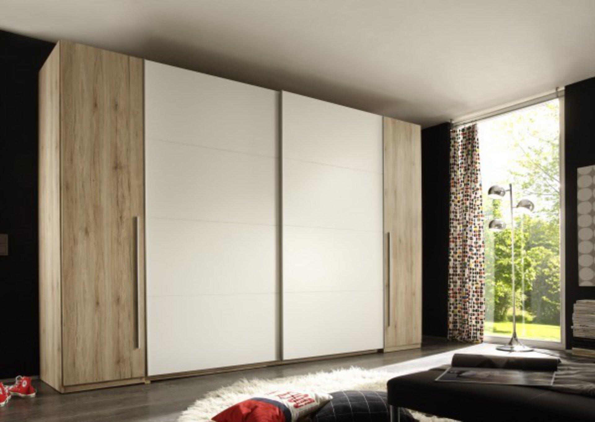 Schwebetürenschrank MATCH Dreamoro Holzwerkstoff 61 x 226 x 315 cm