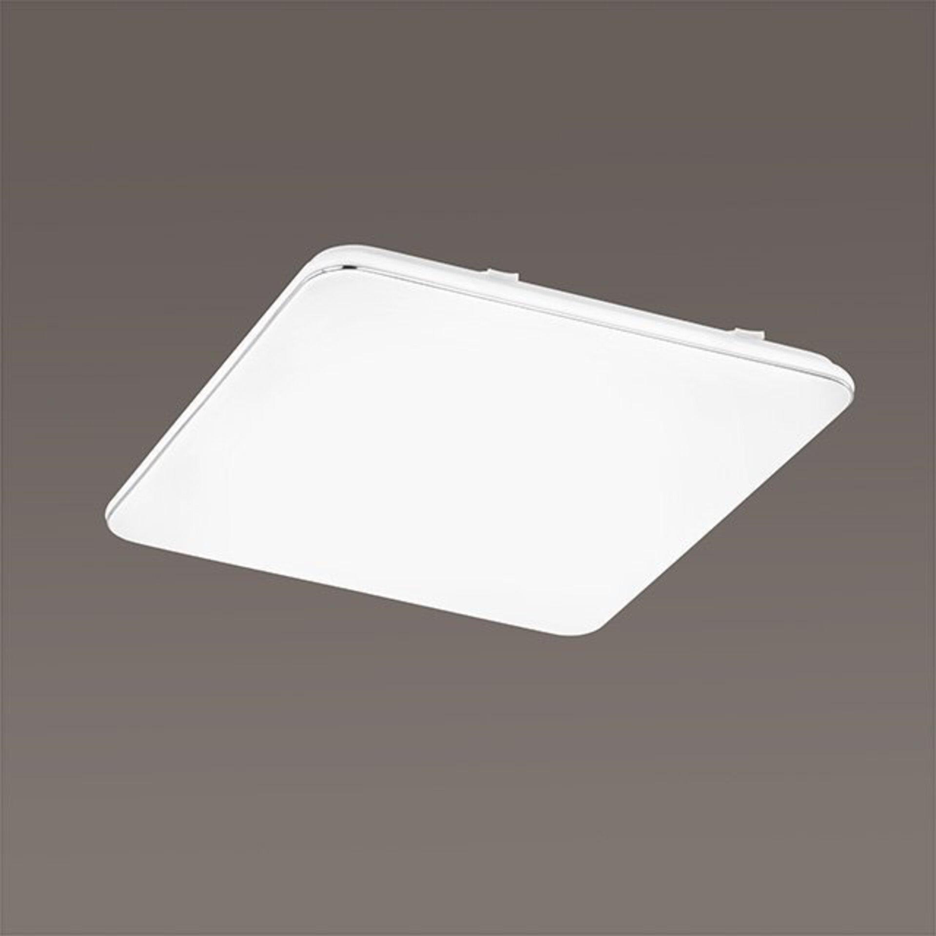 Deckenleuchte Aldo Fischer-Honsel Kunststoff weiß 53 x 5 x 53 cm