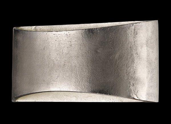 Wandleuchte Fischer-Honsel  Metall nickel ca. 30 cm x 14 cm x 9 cm