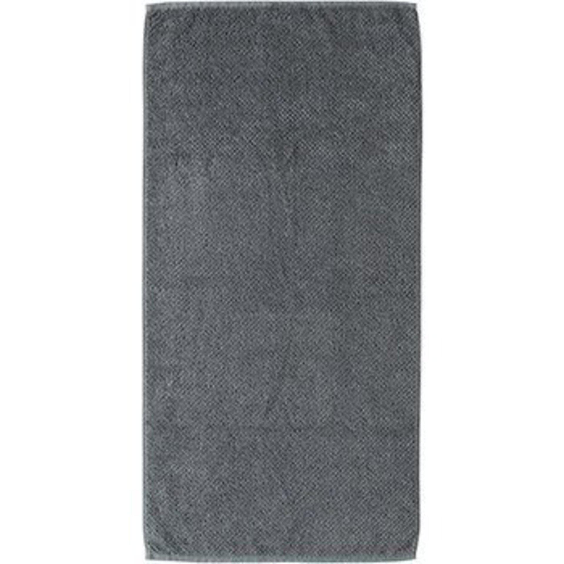 Duschtuch S. Oliver Textil grau 70 x 140 cm