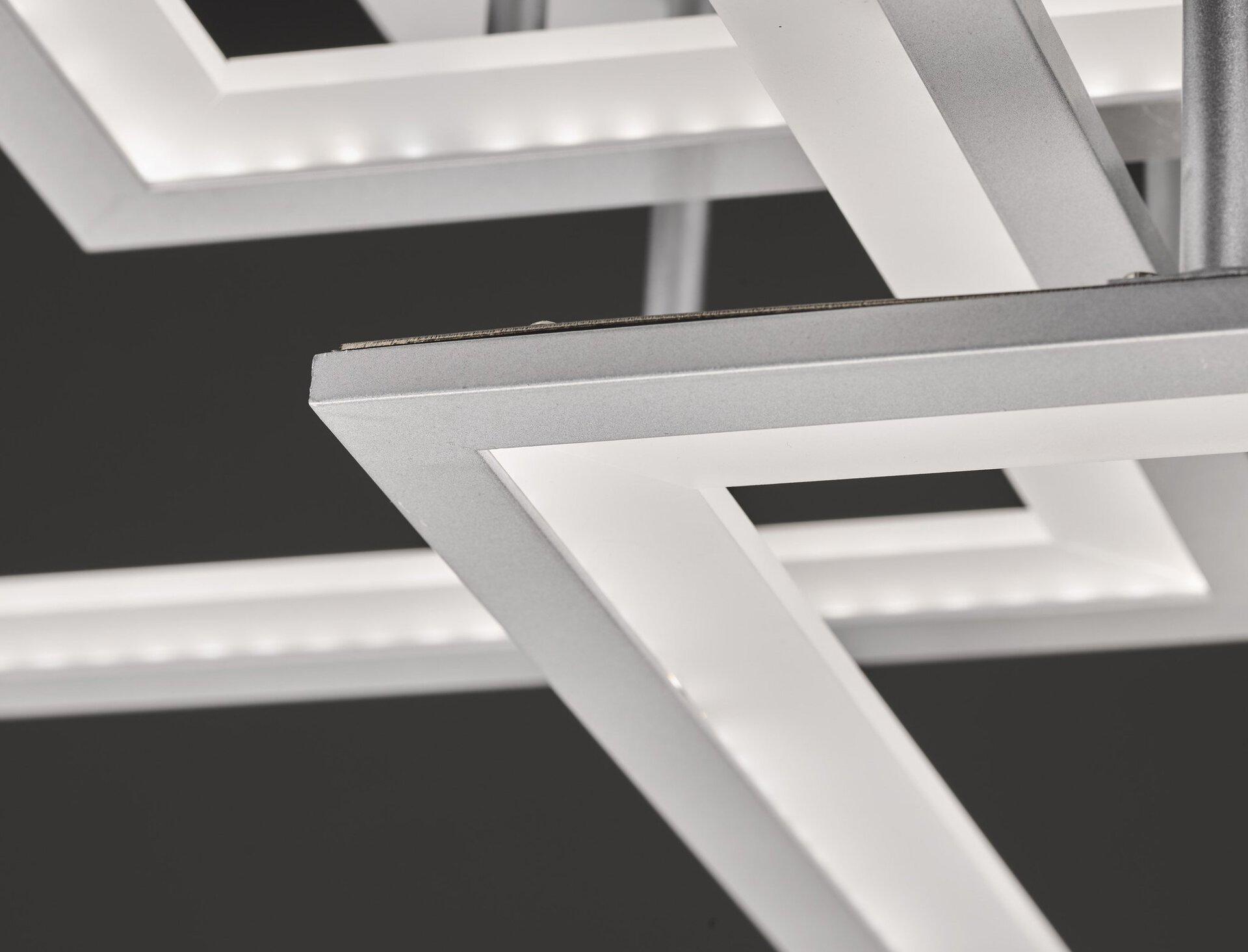 Deckenleuchte Modesto Wofi Leuchten Metall 50 x 17 x 50 cm