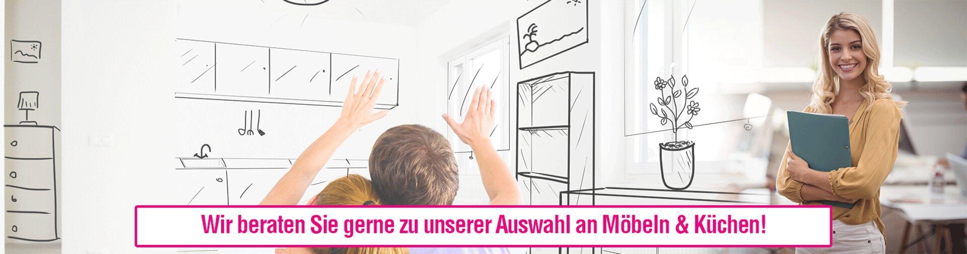 Banner zur Möbel- und Küchenberatung