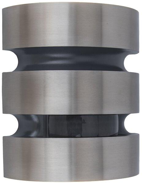 Wand-Aussenleuchte Eco-Light  Metall anthrazit ca. 18 cm x 7 cm x 15 cm
