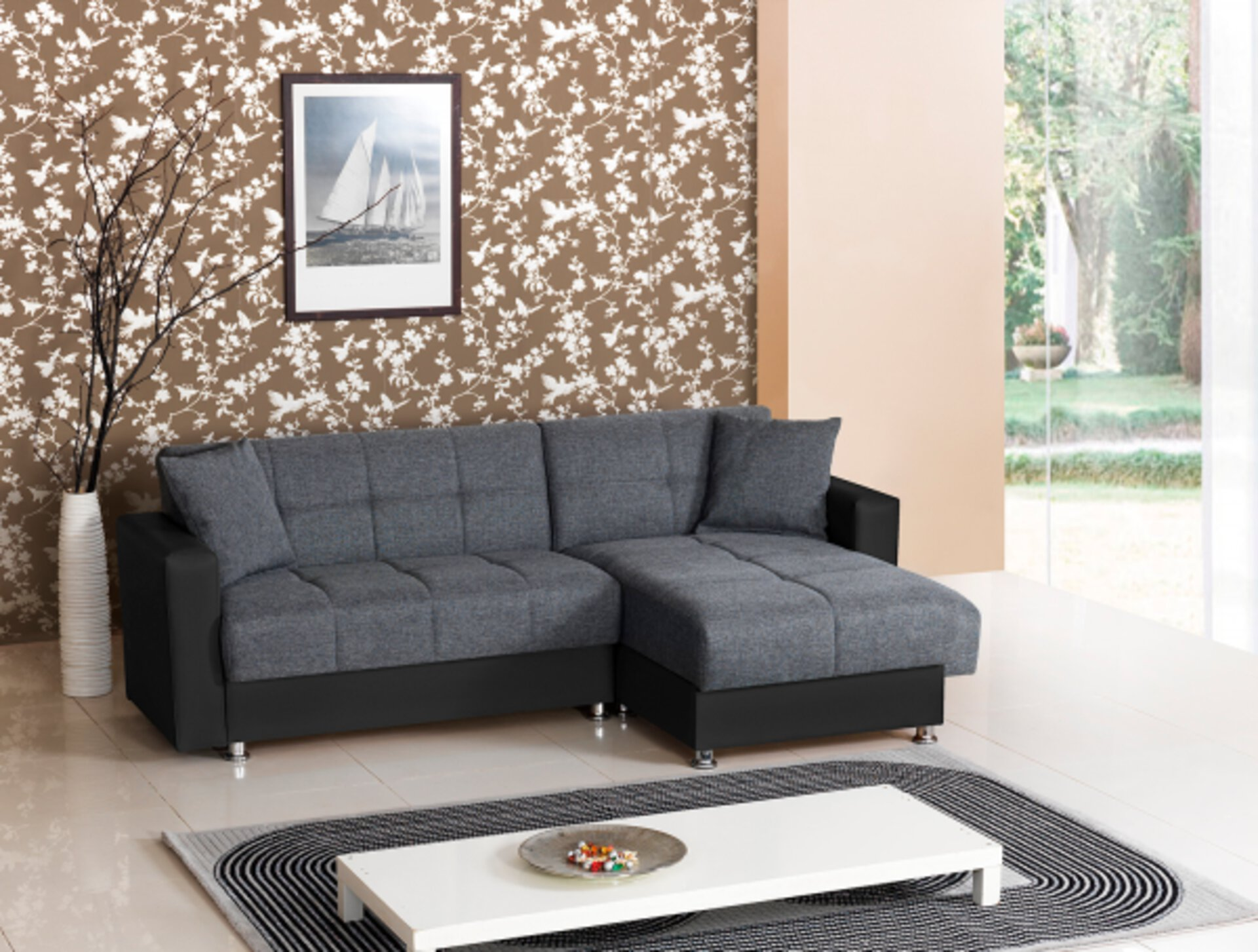 Ecksofa BARCELONA CELECT Textil