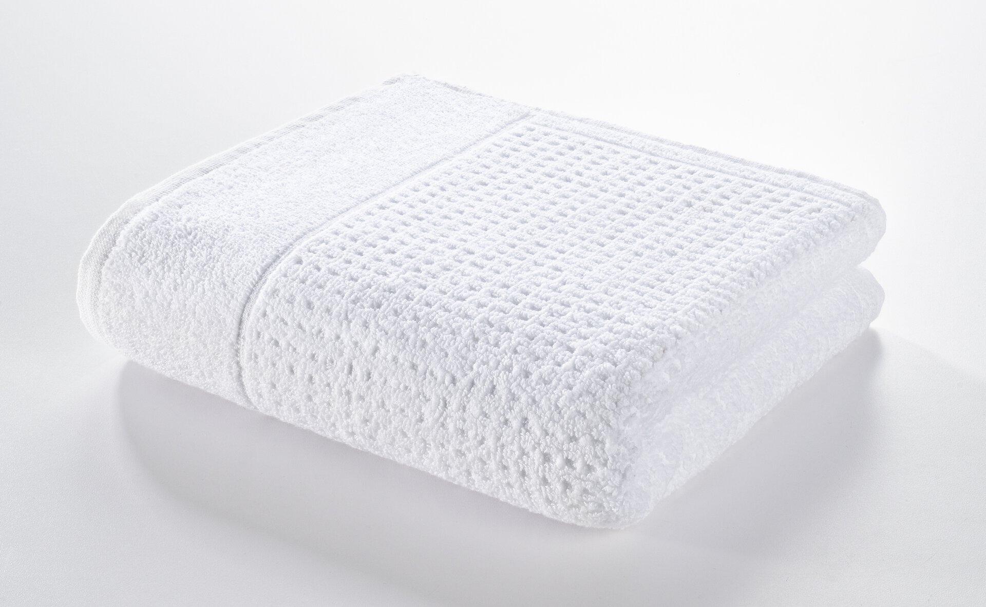 Handtuch Faro Casa Nova Textil weiß 50 x 100 cm