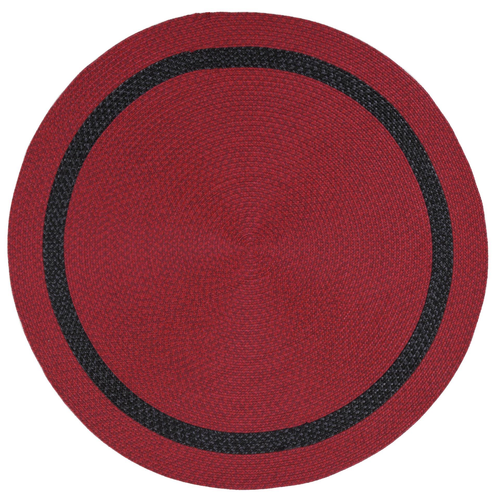 Handwebteppich Benito Gino Falcone Textil rot