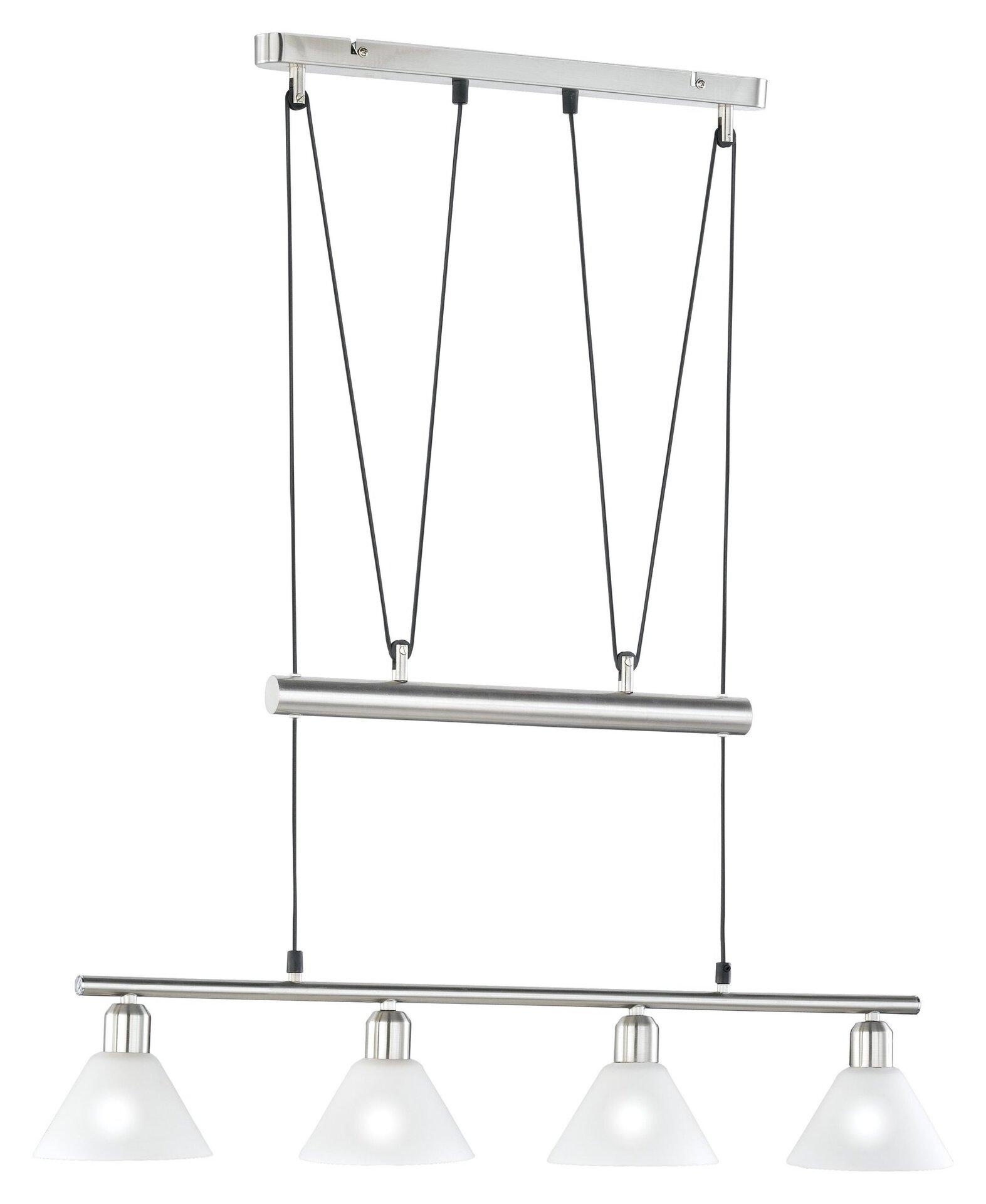 Pendelleuchte Stamina Trio Leuchten Metall 180 x 80 cm