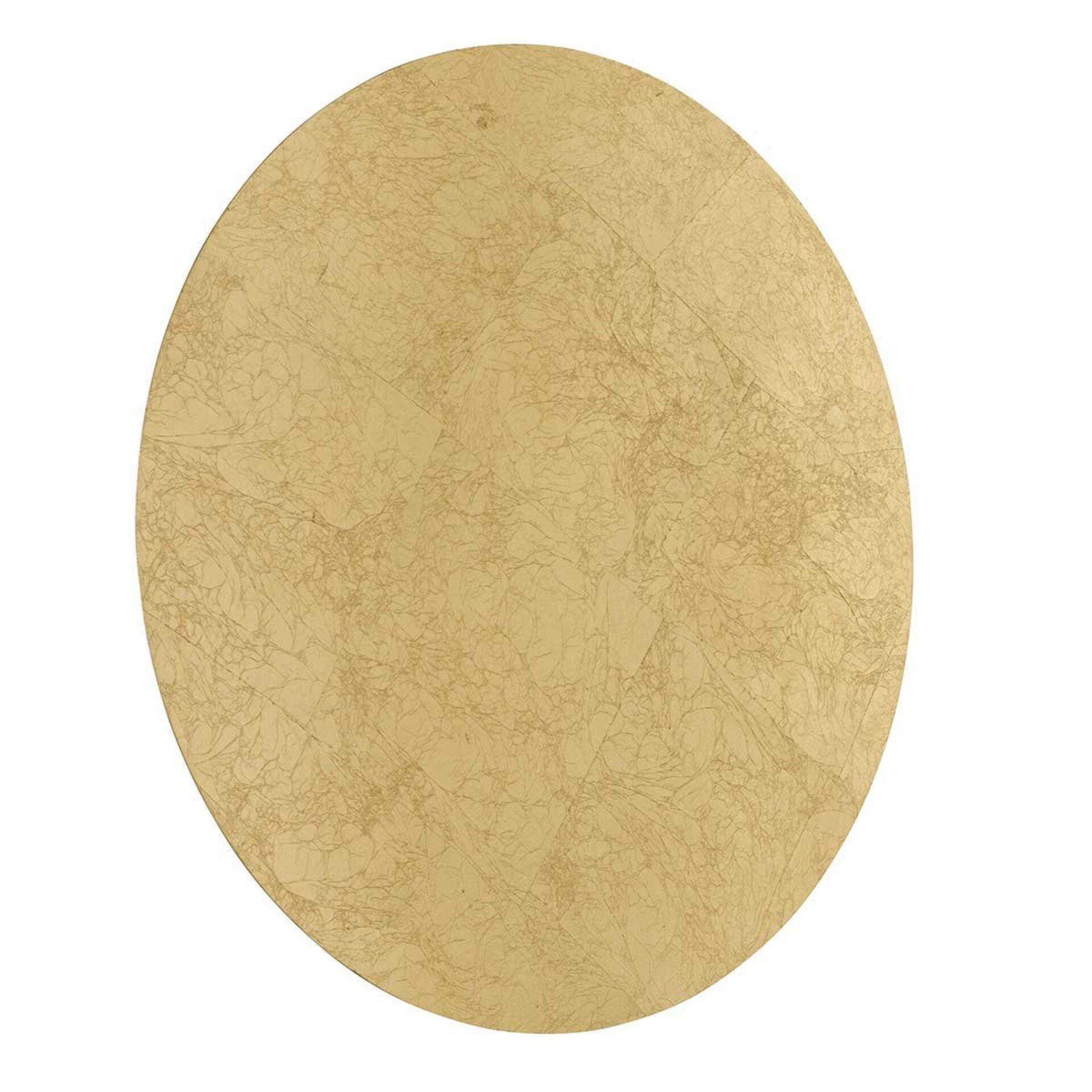 Wandleuchte Angers Wofi Leuchten Metall gold 40 x 6 x 40 cm
