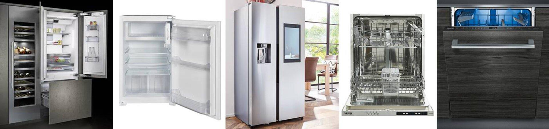 Kühlschränke und Geschirrspüler