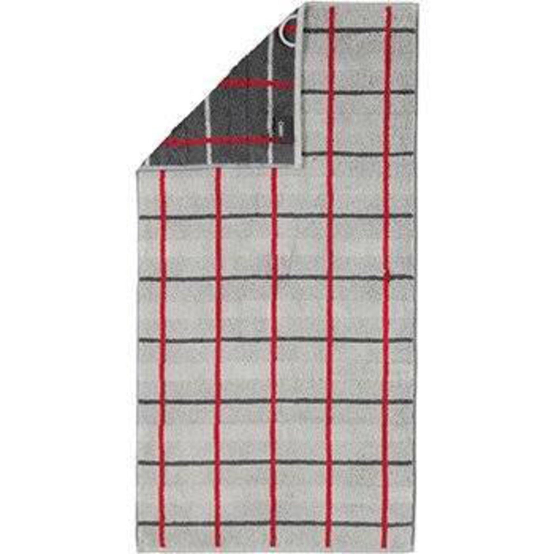 Duschtuch Cawö Textil grau 50 x 100 cm