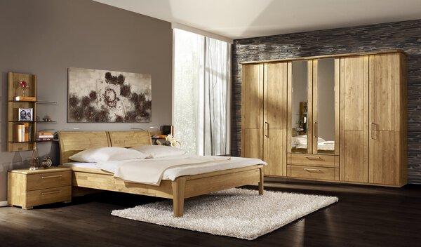 Schlafzimmer Loddenkemper Holz Erle massiv ca. 69 cm x 225 cm x 103 cm