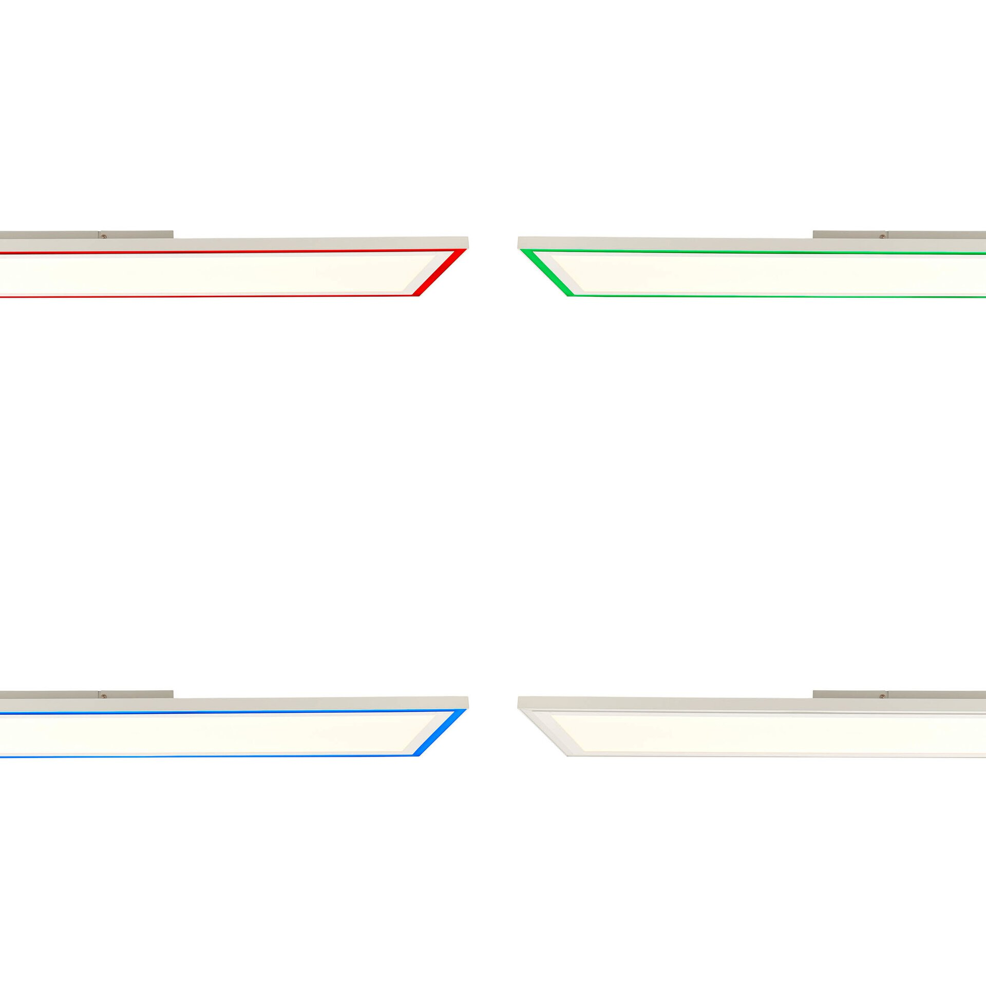 Deckenleuchte LANETTE Brilliant Metall weiß 30 x 5 x 120 cm