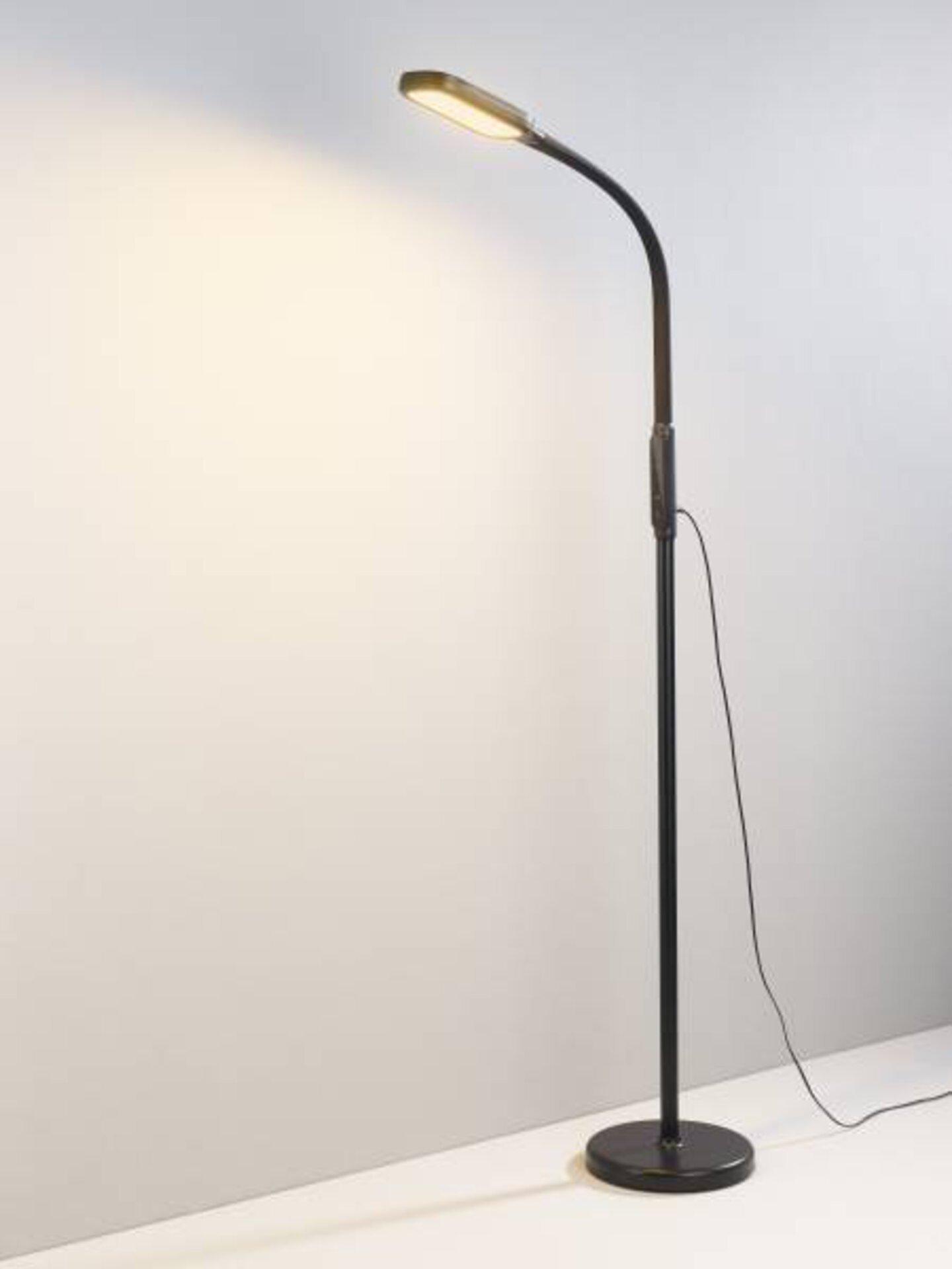 Stehleuchte Choise Casa Nova Metall schwarz 23 x 176 x 23 cm
