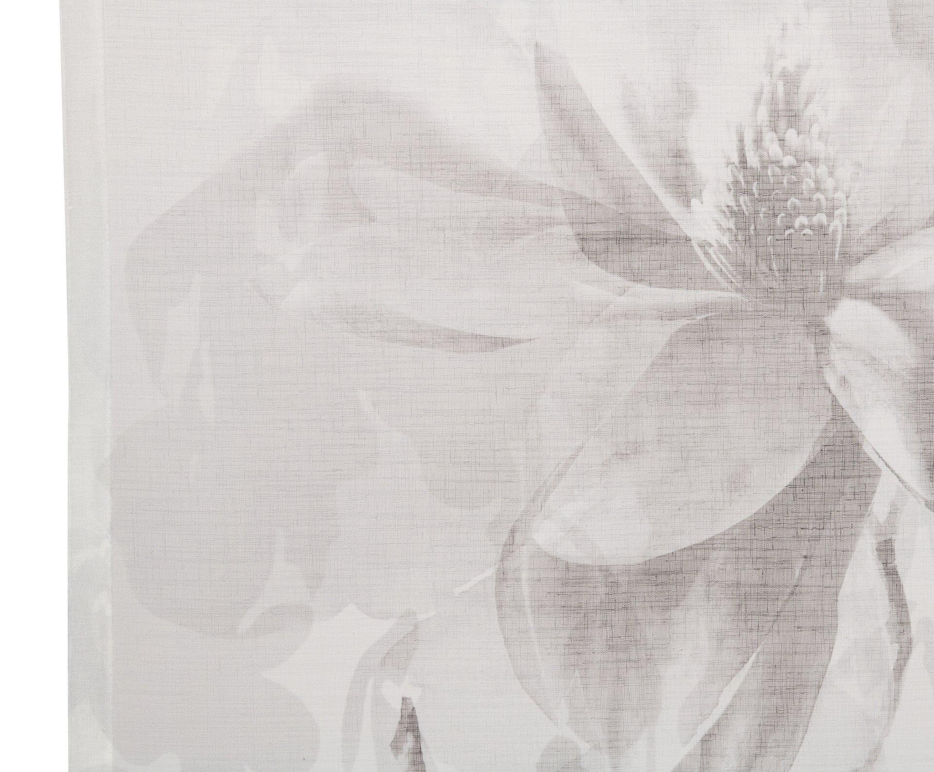 Flächenvorhang Gina Ambiente Trendlife Textil silber 60 x 245 cm