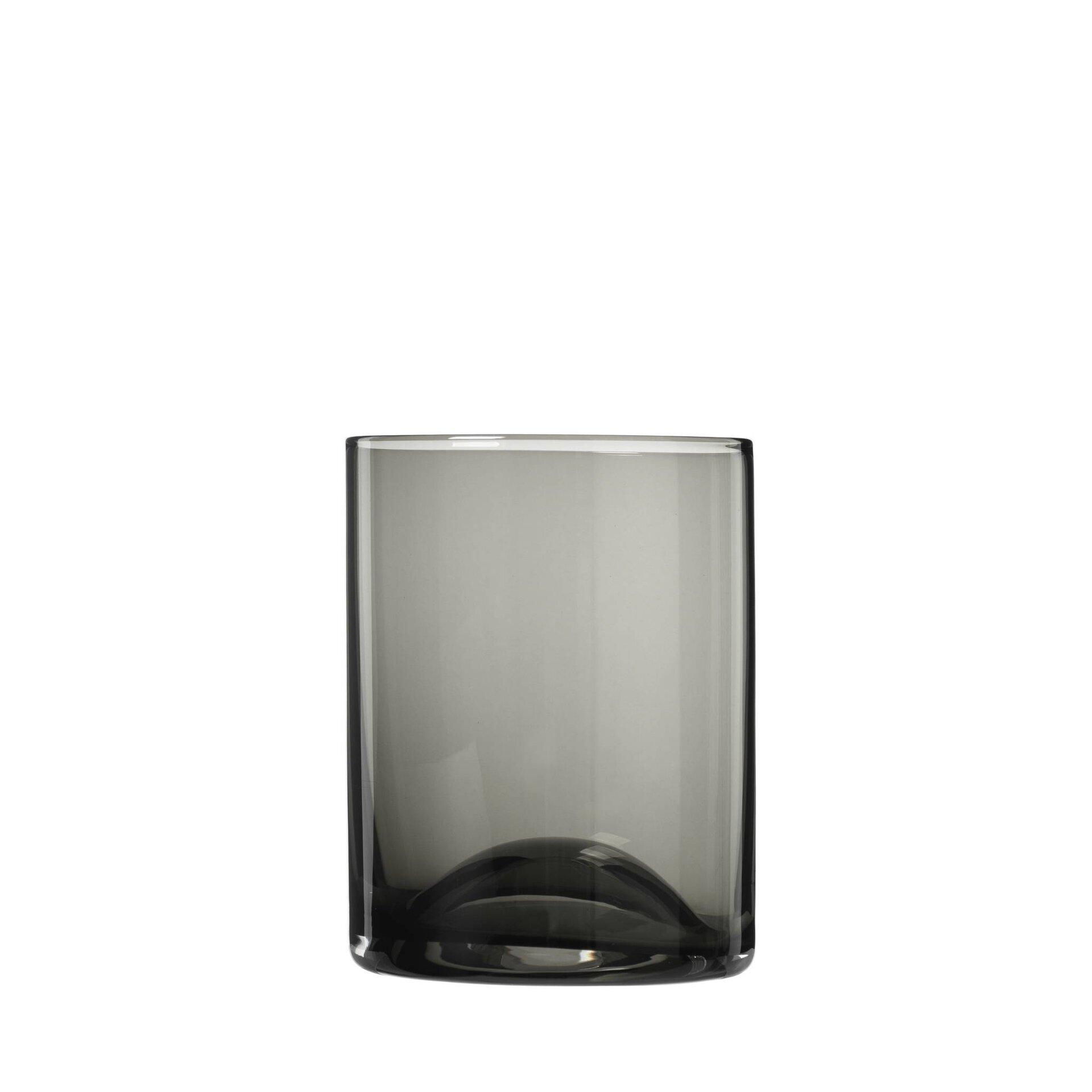 Trinkglas WAVE Blomus Glas grau 8 x 10 x 8 cm