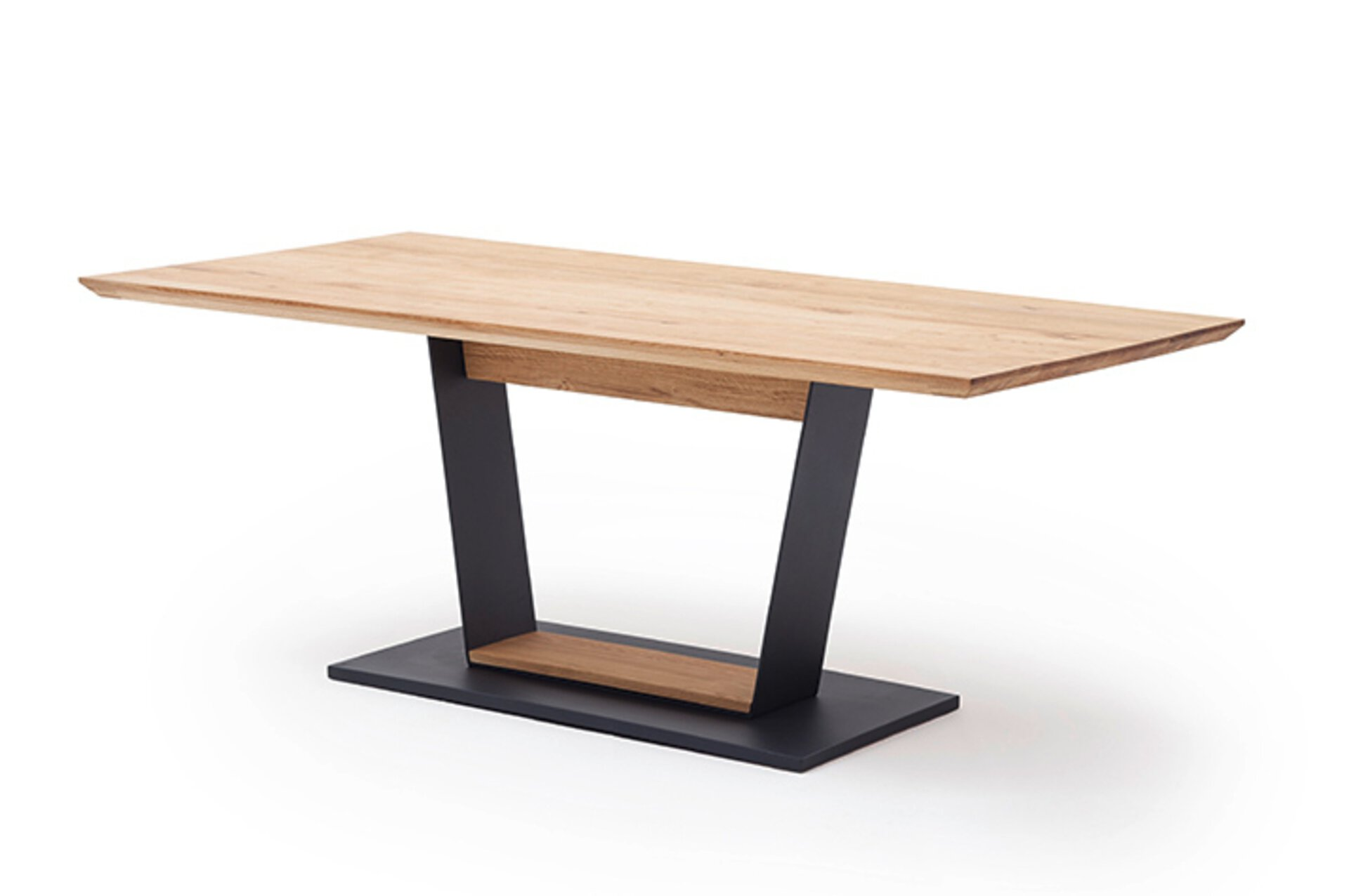 Esstisch MALAMBO MCA furniture Metall mehrfarbig 90 x 77 x 180 cm