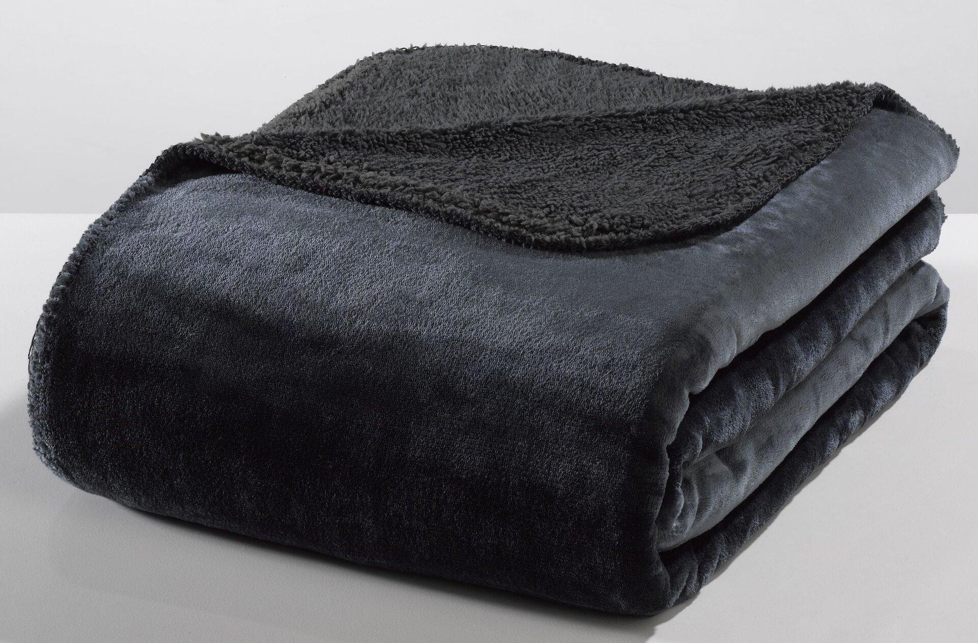 Flanelldecke 18209 CasaNova Hengya x-mas Casa Nova Textil grau