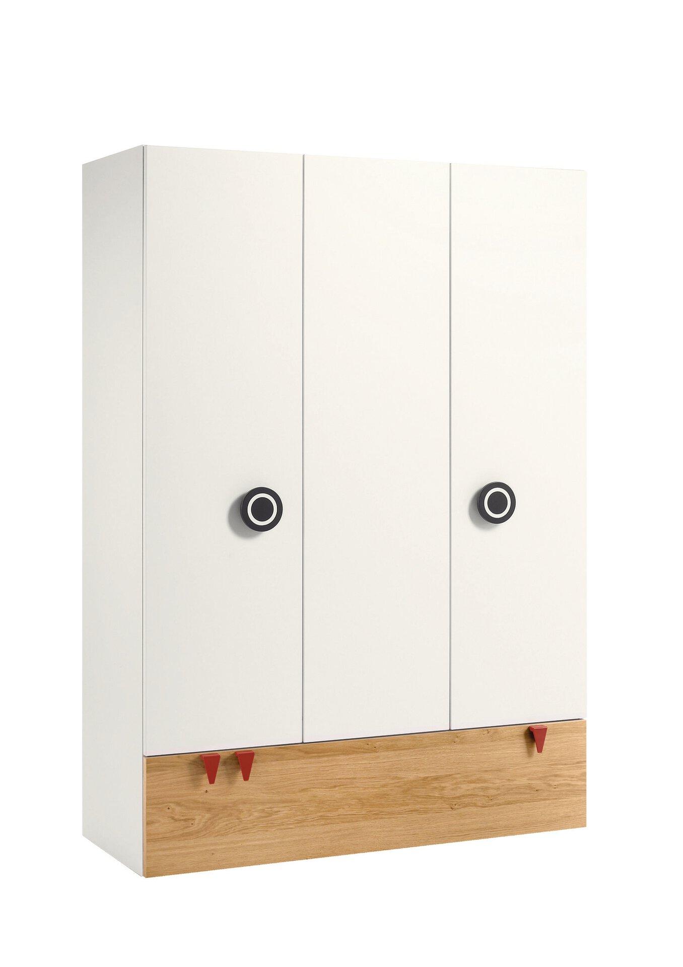 Kinderschrank MINIMO now! by Hülsta Holzwerkstoff weiß 53 x 194 x 135 cm