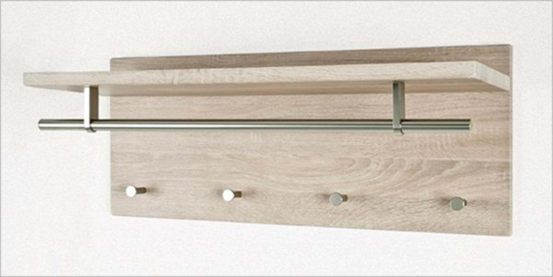 Garderobenpaneel PABLO3 inbuy Holzwerkstoff 26 x 30 x 75 cm