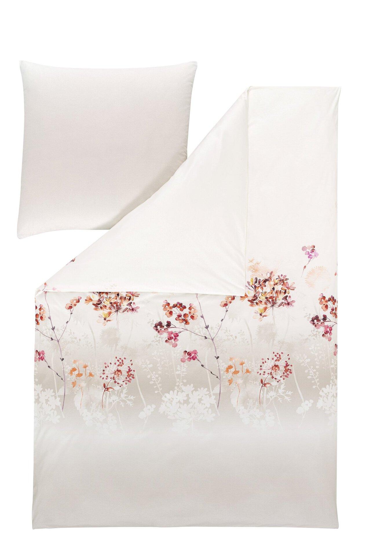 Jersey-Bettwäsche Allegra Estella Textil beige 135 x 200 cm