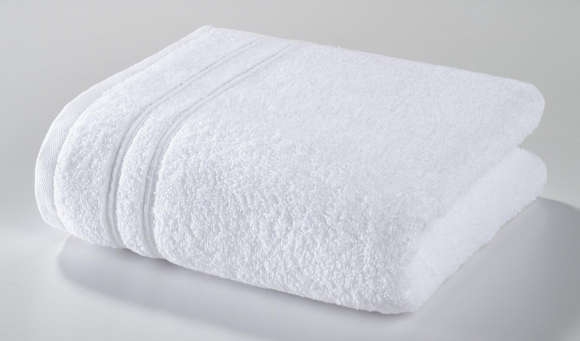 Duschtuch Porto Casa Nova Textil weiß 70 x 140 cm