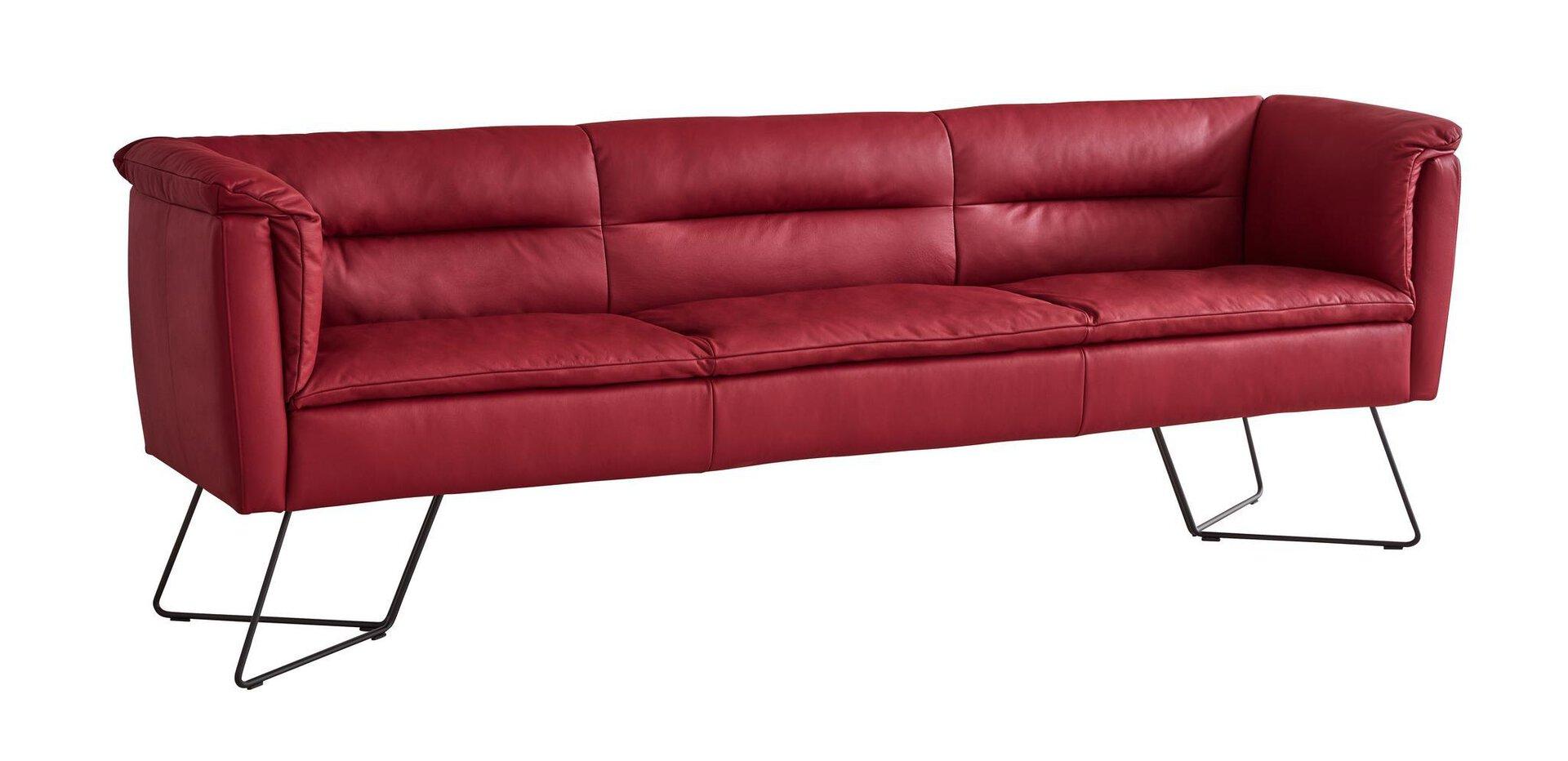 Sitzbank MELZ MONDO Leder 65 x 85 x 248 cm