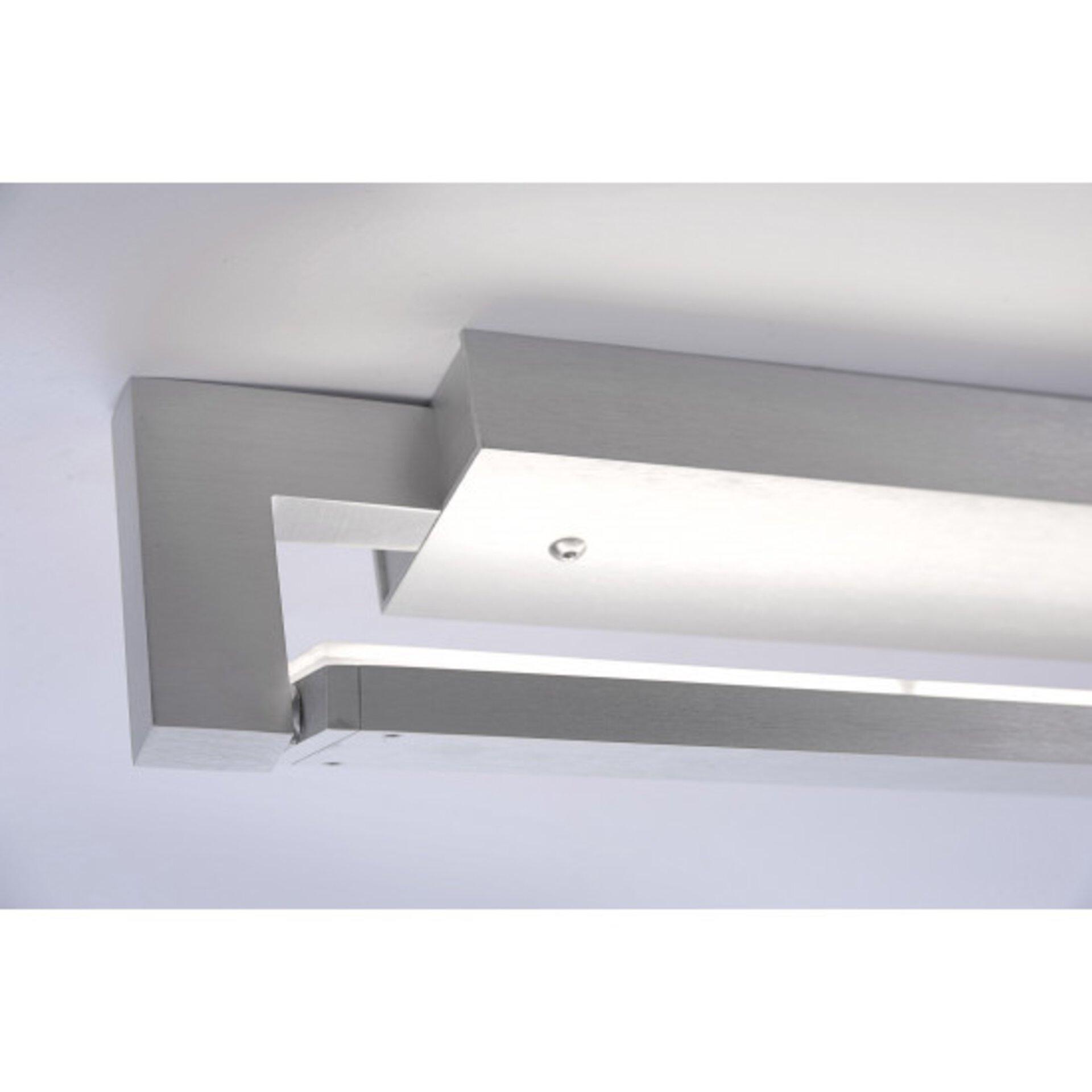 Smart-Home-Leuchten Q-MATTEO Paul Neuhaus Metall silber 6 x 10 x 52 cm
