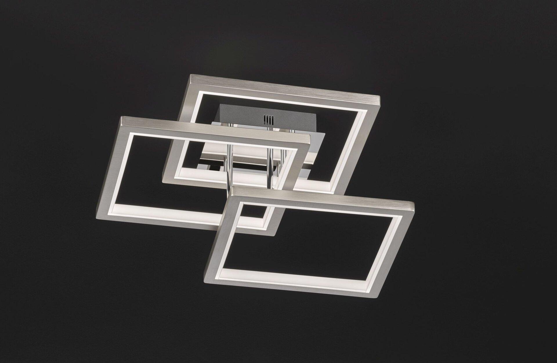Deckenleuchte VISO inbuy Metall silber 4 x 1 cm