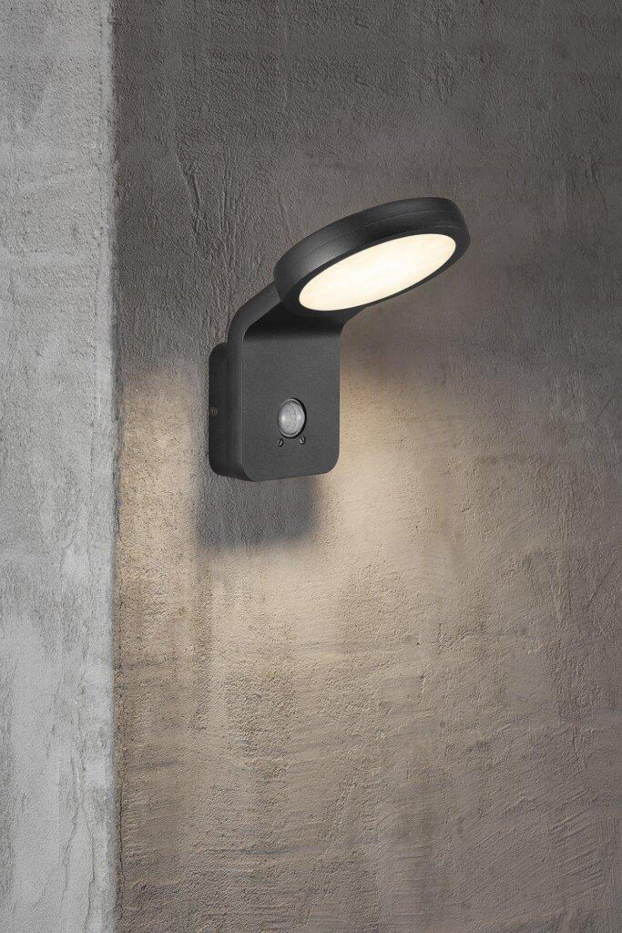 Wand-Aussenleuchte MARINA FLATLINE Nordlux Metall schwarz 18 x 20 x 20 cm