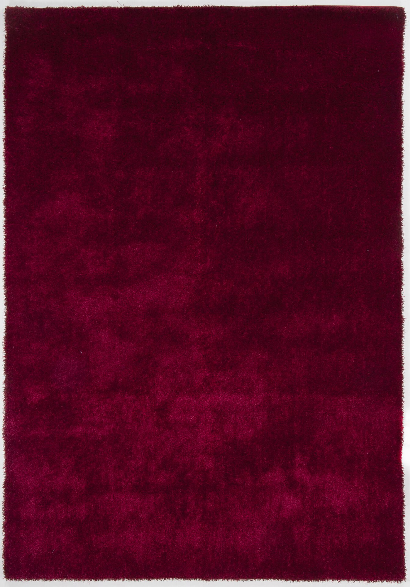 Handtuftteppich Alessandro Gino Falcone Textil rot 50 x 80 cm