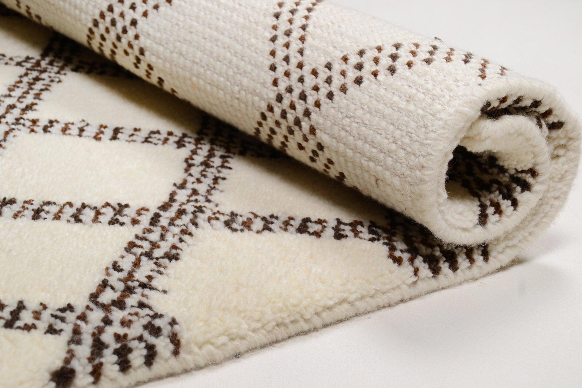 Handknüpfteppich Marmoucha Theko Textil 1 x 2 cm