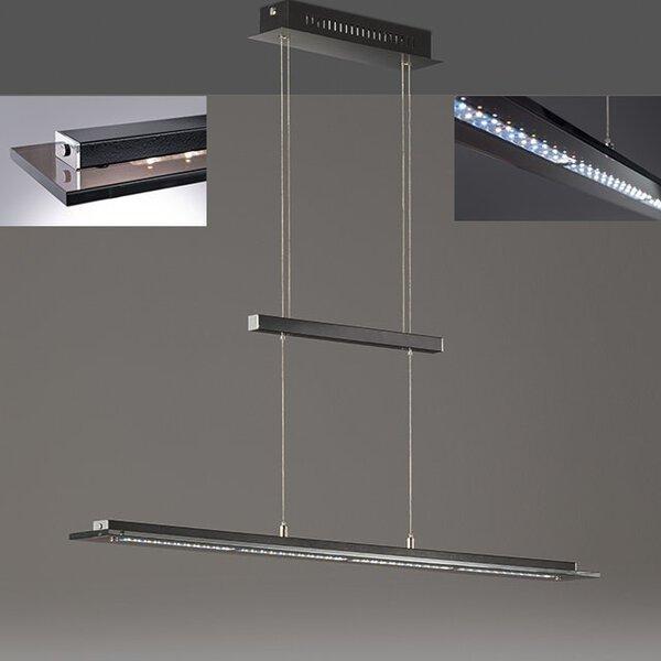 Hängeleuchte Fischer-Honsel  Metall schwarz, chrom ca. 9 cm x 150 cm x 88 cm