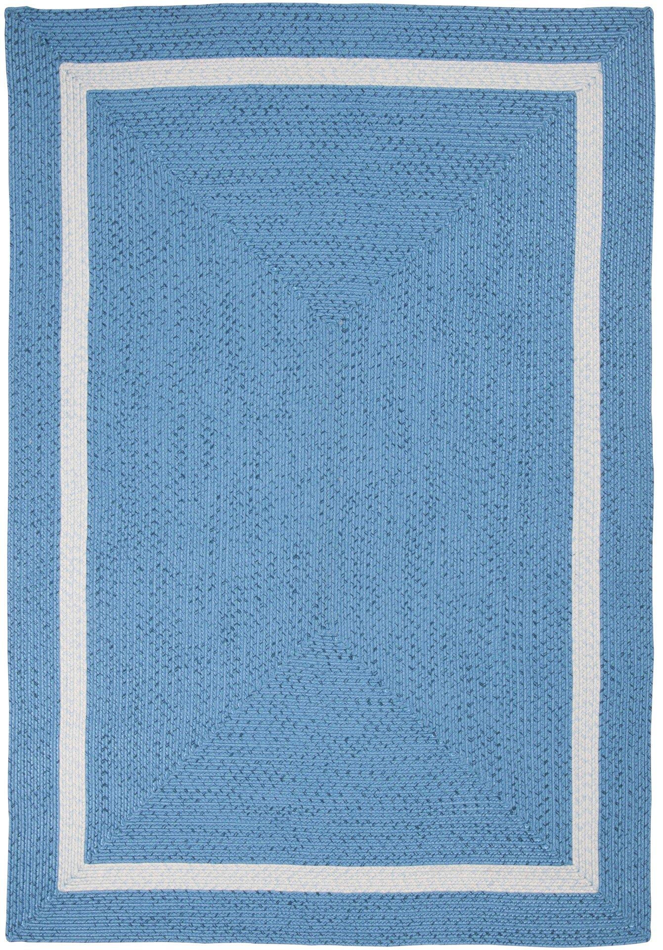 Handwebteppich Benito Gino Falcone Textil Blau