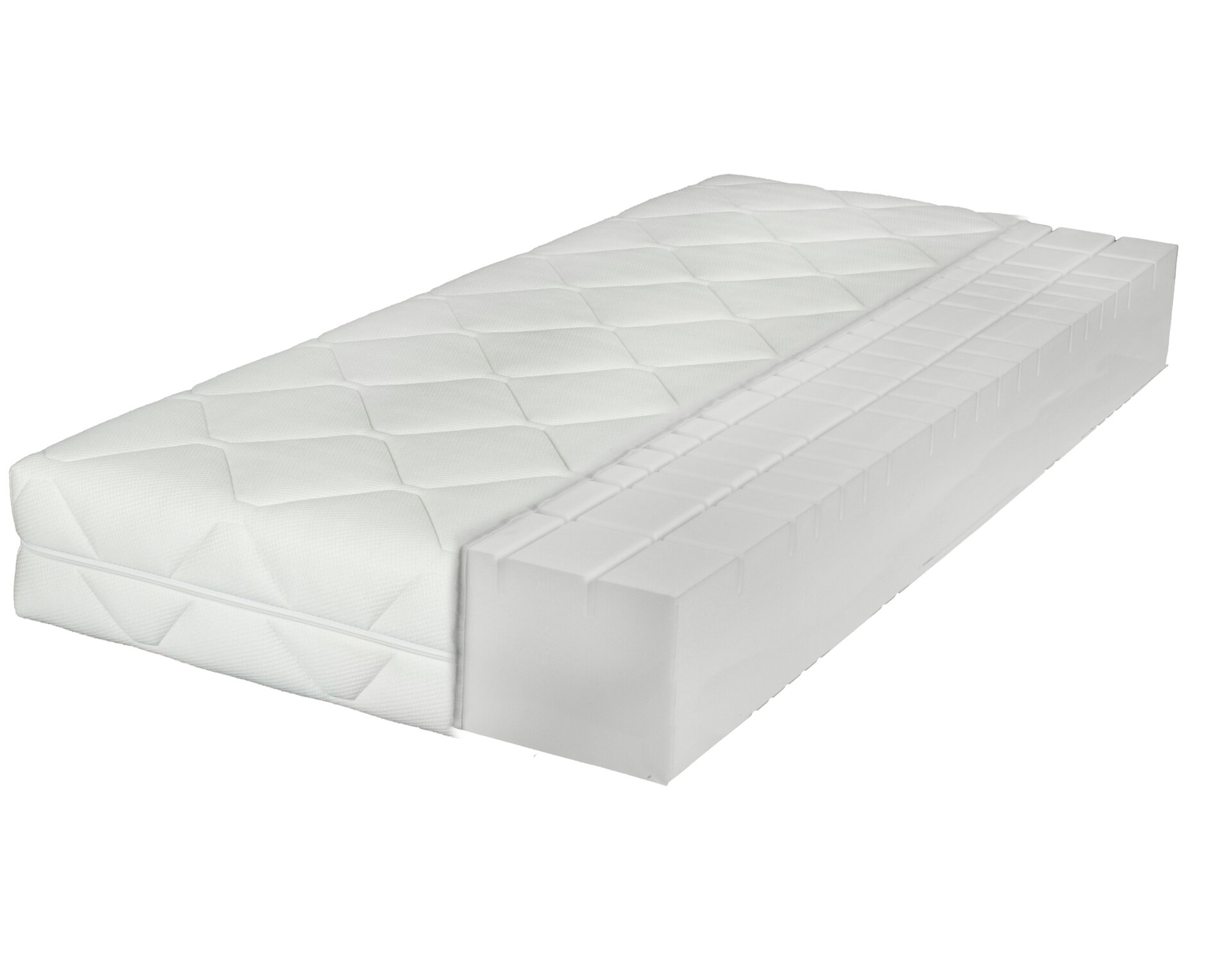 Komfortschaummatratze MATINO LIV'IN LIV'IN Textil 200 x 26 x 90 cm