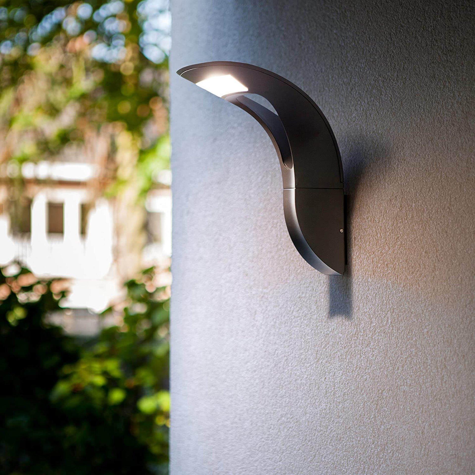 Wand-Aussenleuchte Anda Eco-Light Metall 20 x 30 x 25 cm