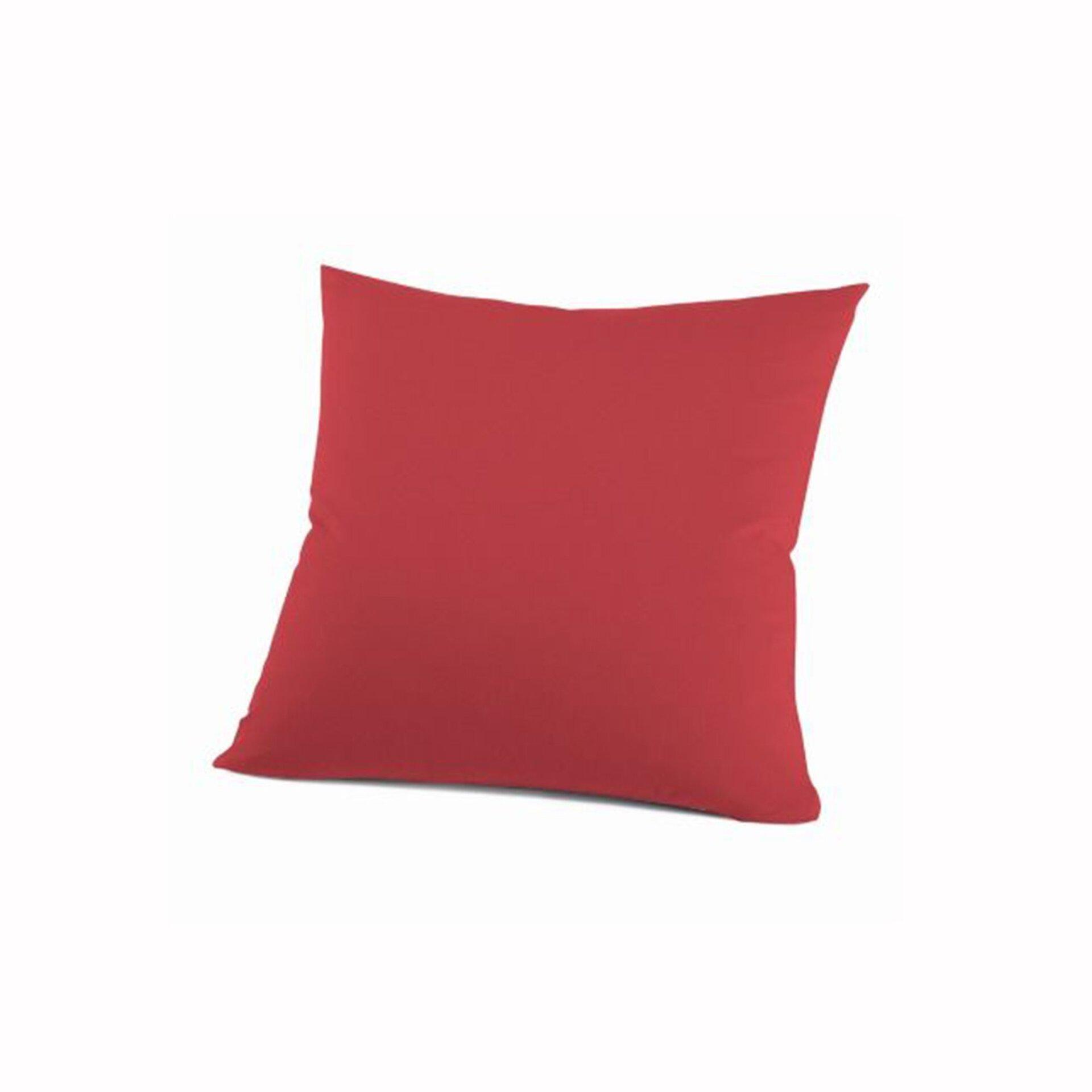 Kissenhülle Schlafgut Textil rot 80 x 80 cm