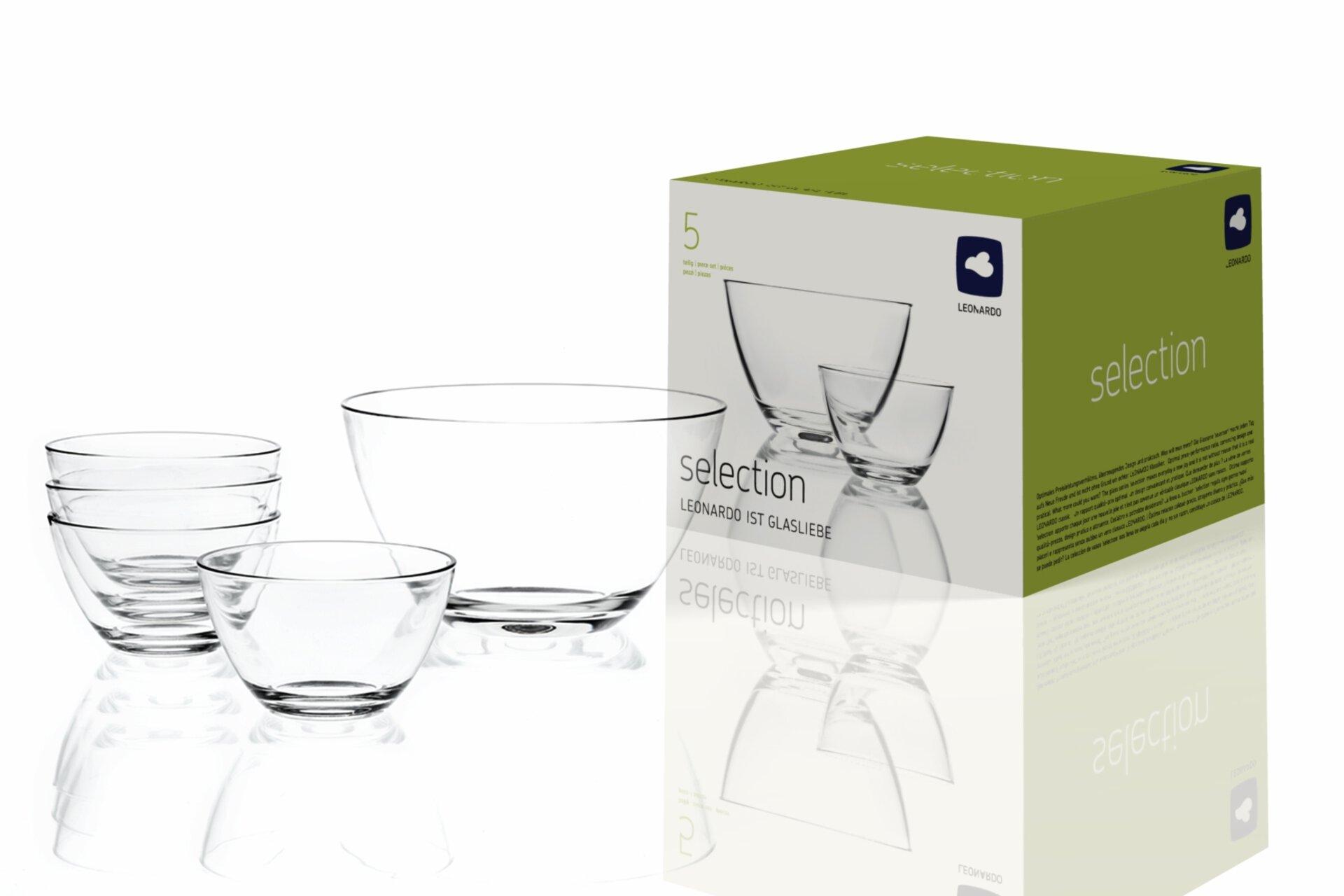 Schale Selection Leonardo Glas