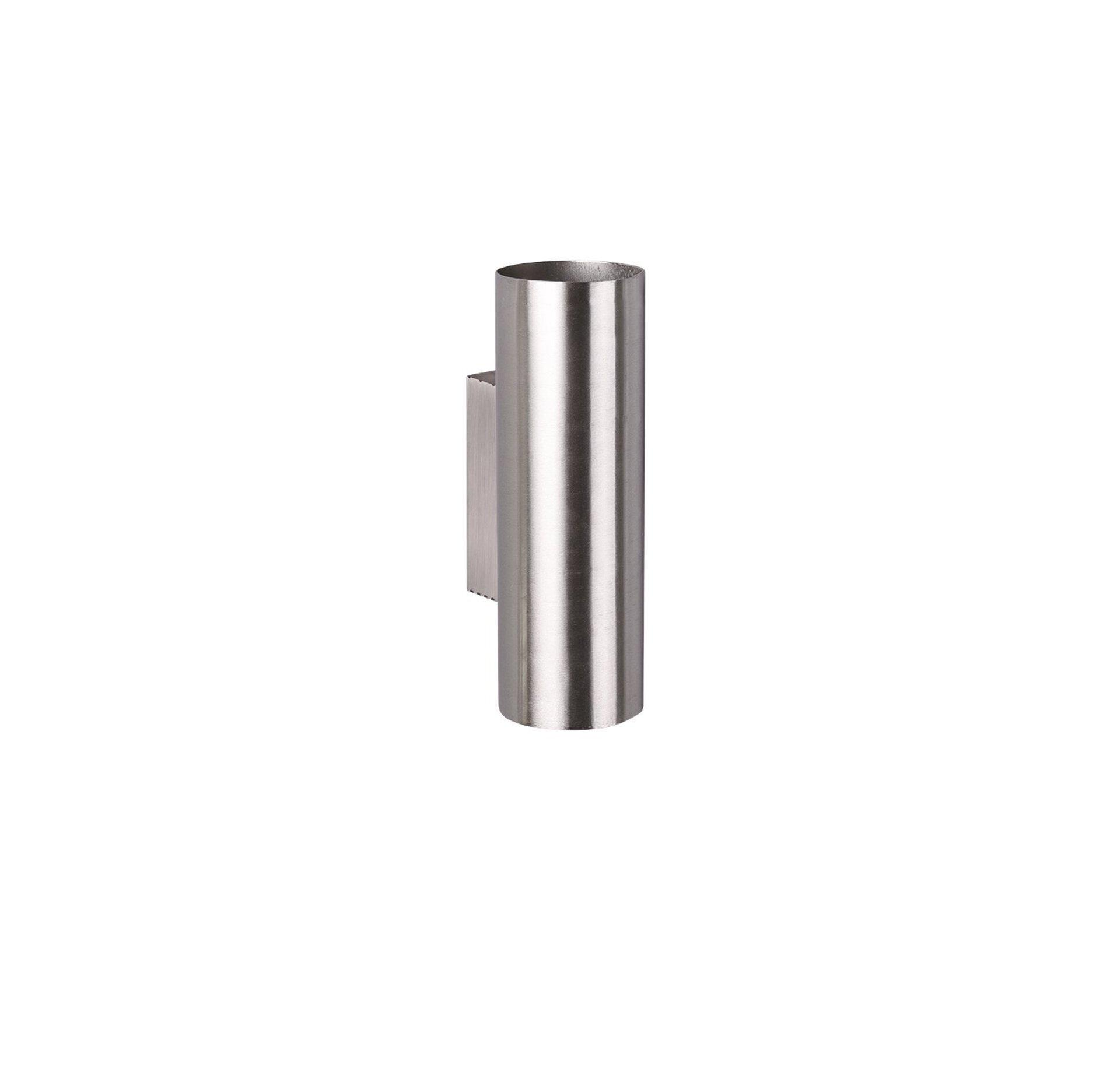 Wandleuchte Marley Trio Leuchten Metall silber 18 x 6 cm