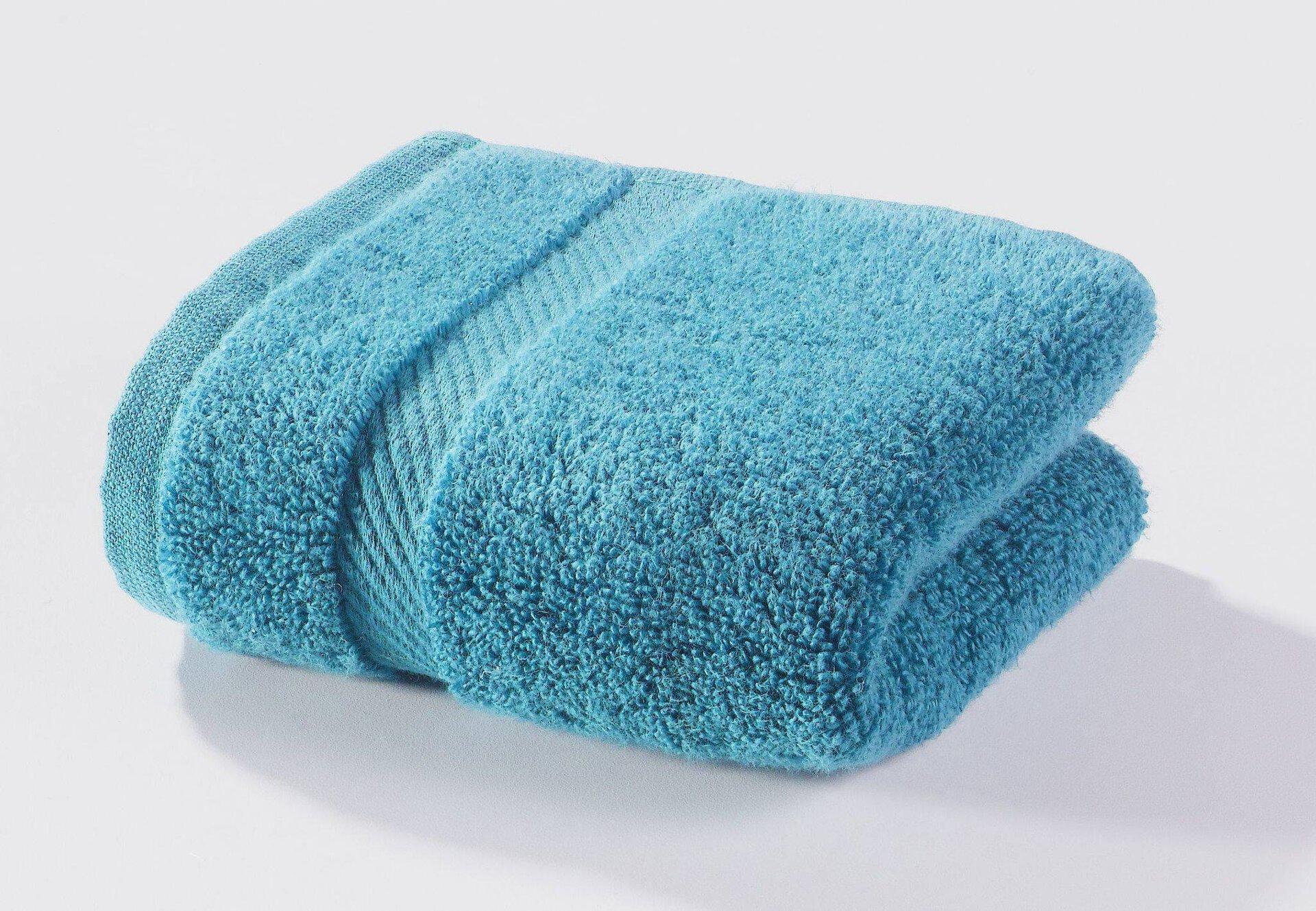 Gästetuch Micro Baumwolle Casa Nova Textil Blau 30 x 50 cm