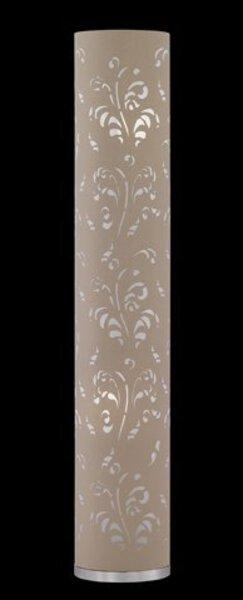 Stehleuchte Flora Fischer-Honsel  Metall chrom ca. 19 cm x 110 cm x 19 cm