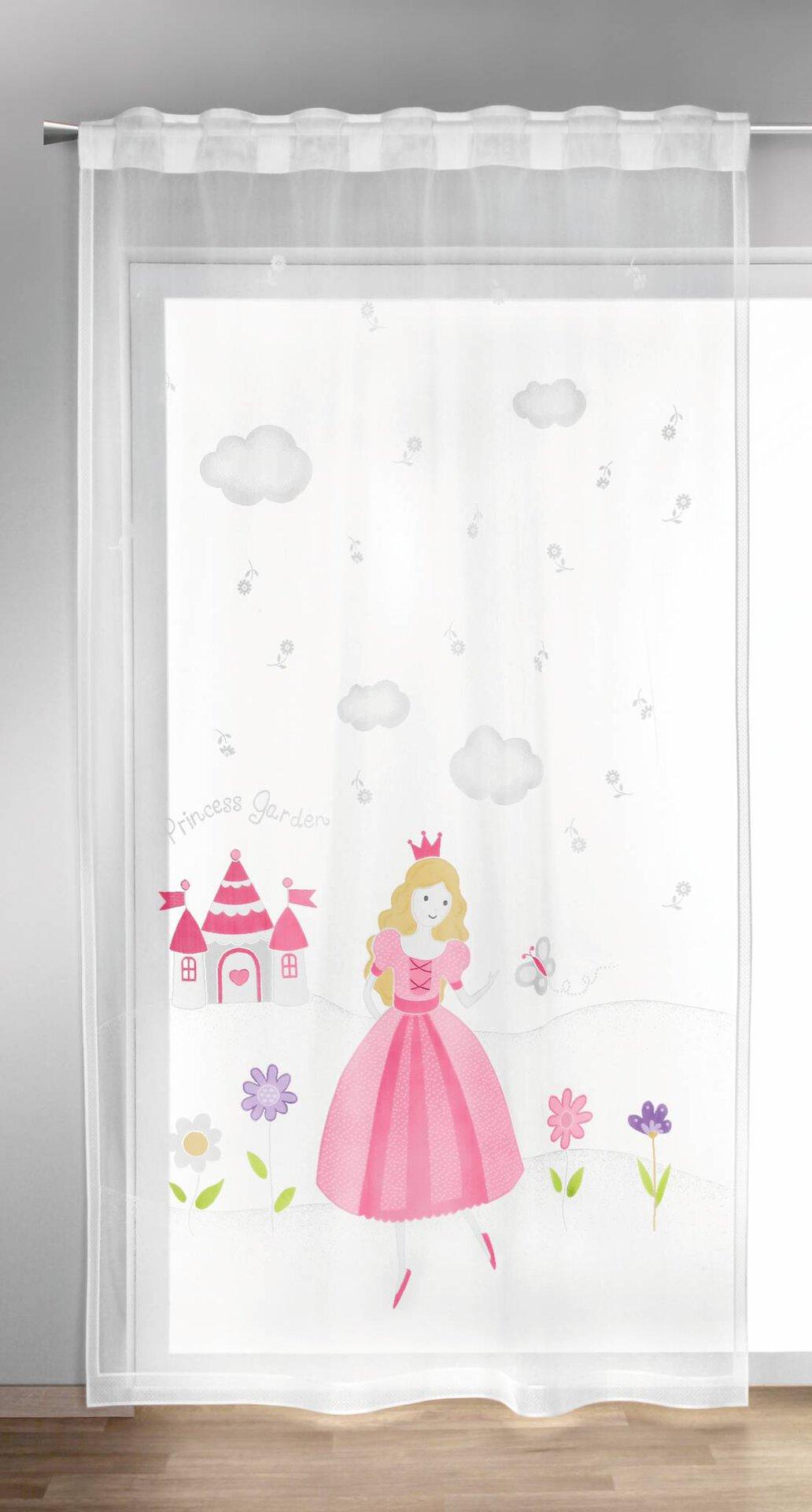 Schlaufenschal Prinzessin Albani Textil lila 140 x 245 cm
