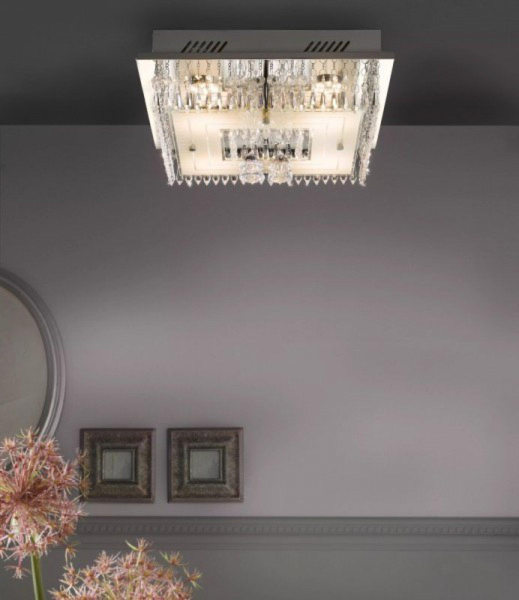 Deckenleuchte Casablanco Casa Nova Metall 36 x 10 x 36 cm